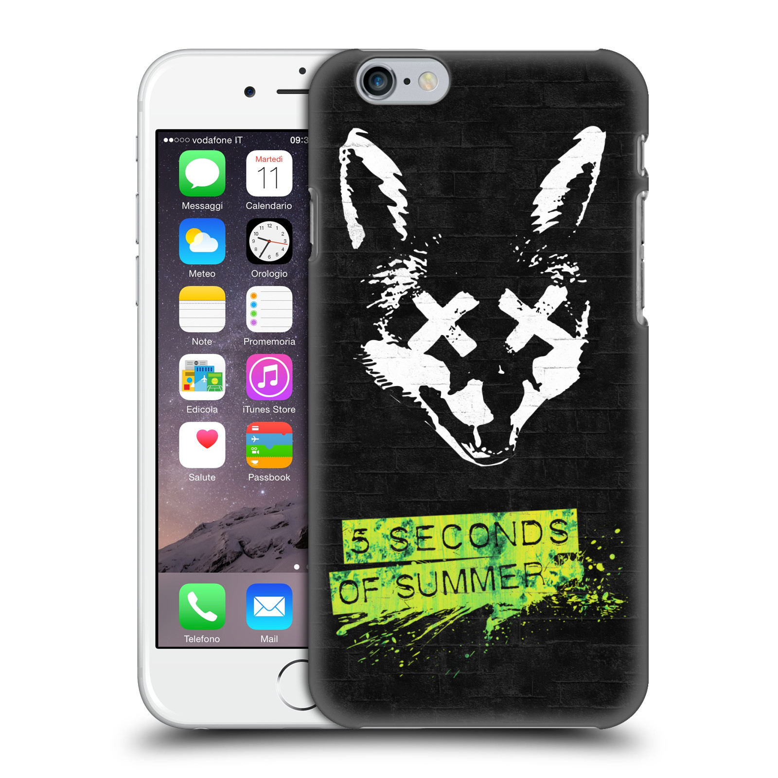 Plastové pouzdro na mobil Apple iPhone 6 HEAD CASE 5 Seconds of Summer - Fox