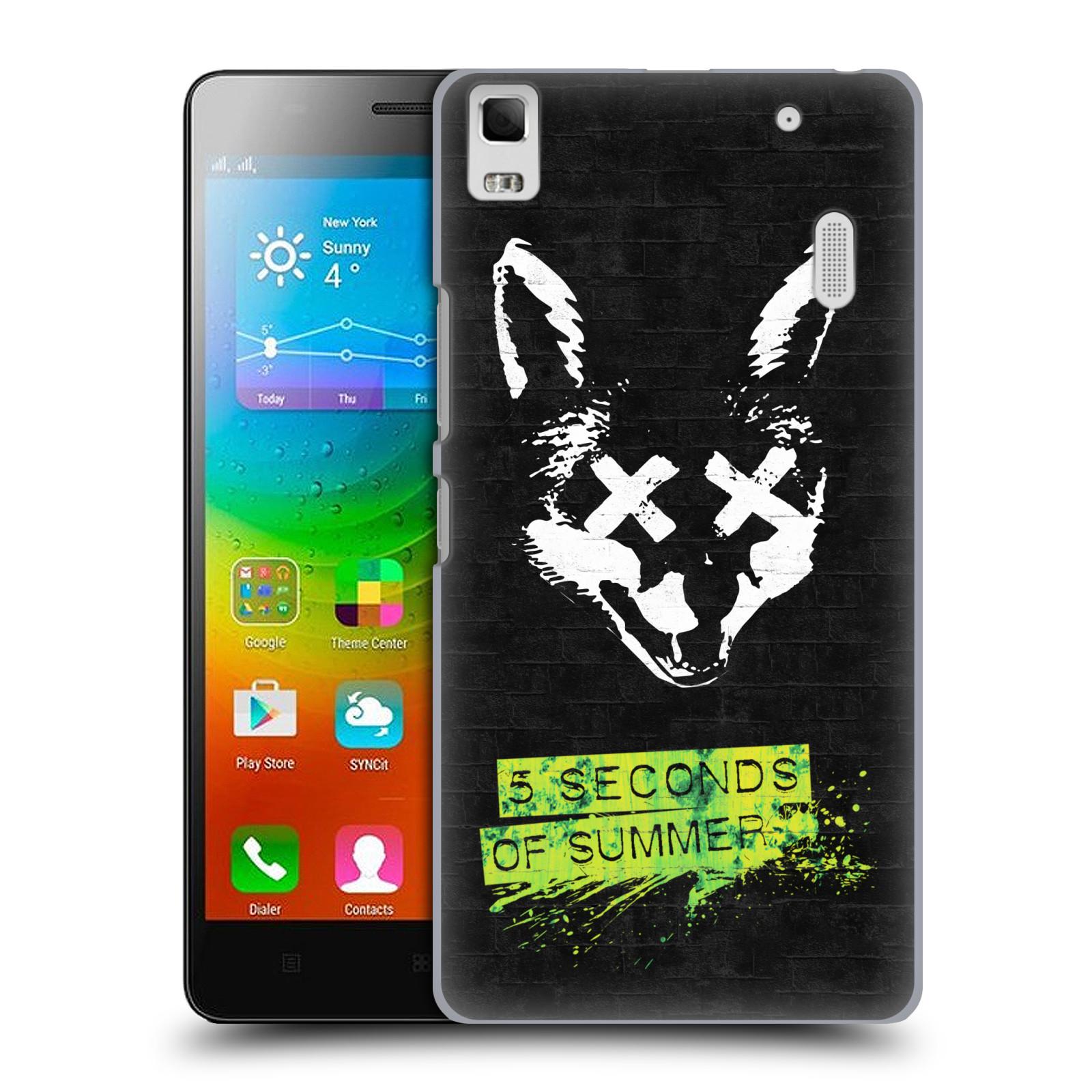 Plastové pouzdro na mobil Lenovo A7000 HEAD CASE 5 Seconds of Summer - Fox