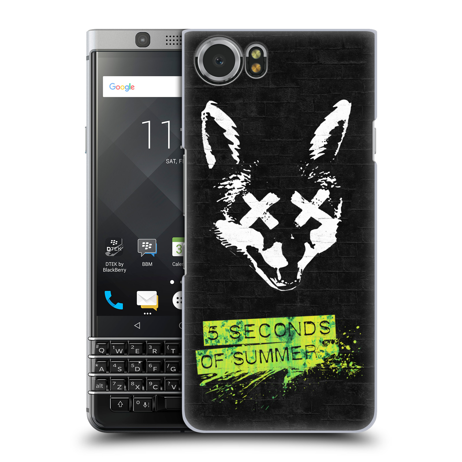 Plastové pouzdro na mobil BlackBerry KEYone - Head Case - 5 Seconds of Summer - Fox