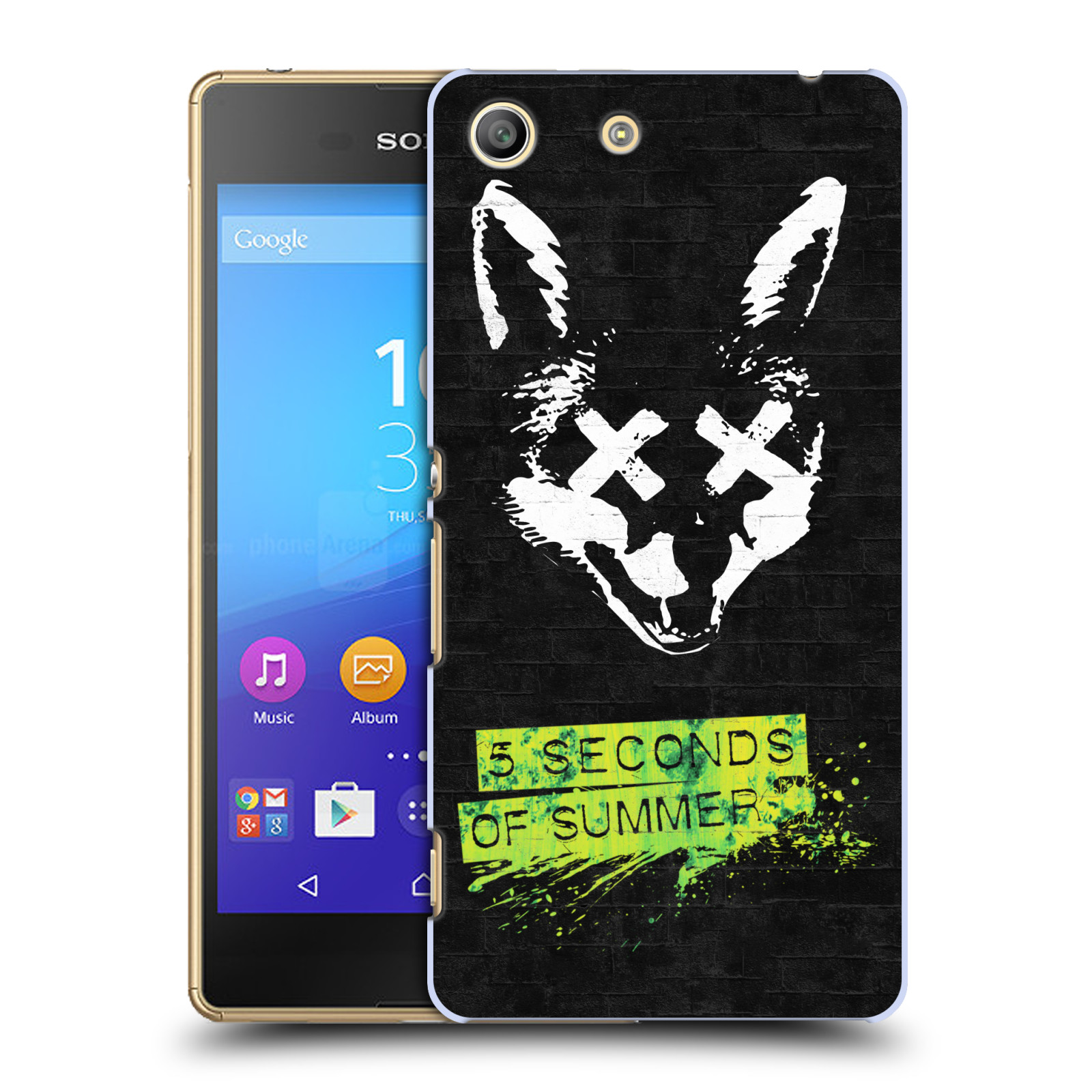Plastové pouzdro na mobil Sony Xperia M5 HEAD CASE 5 Seconds of Summer - Fox