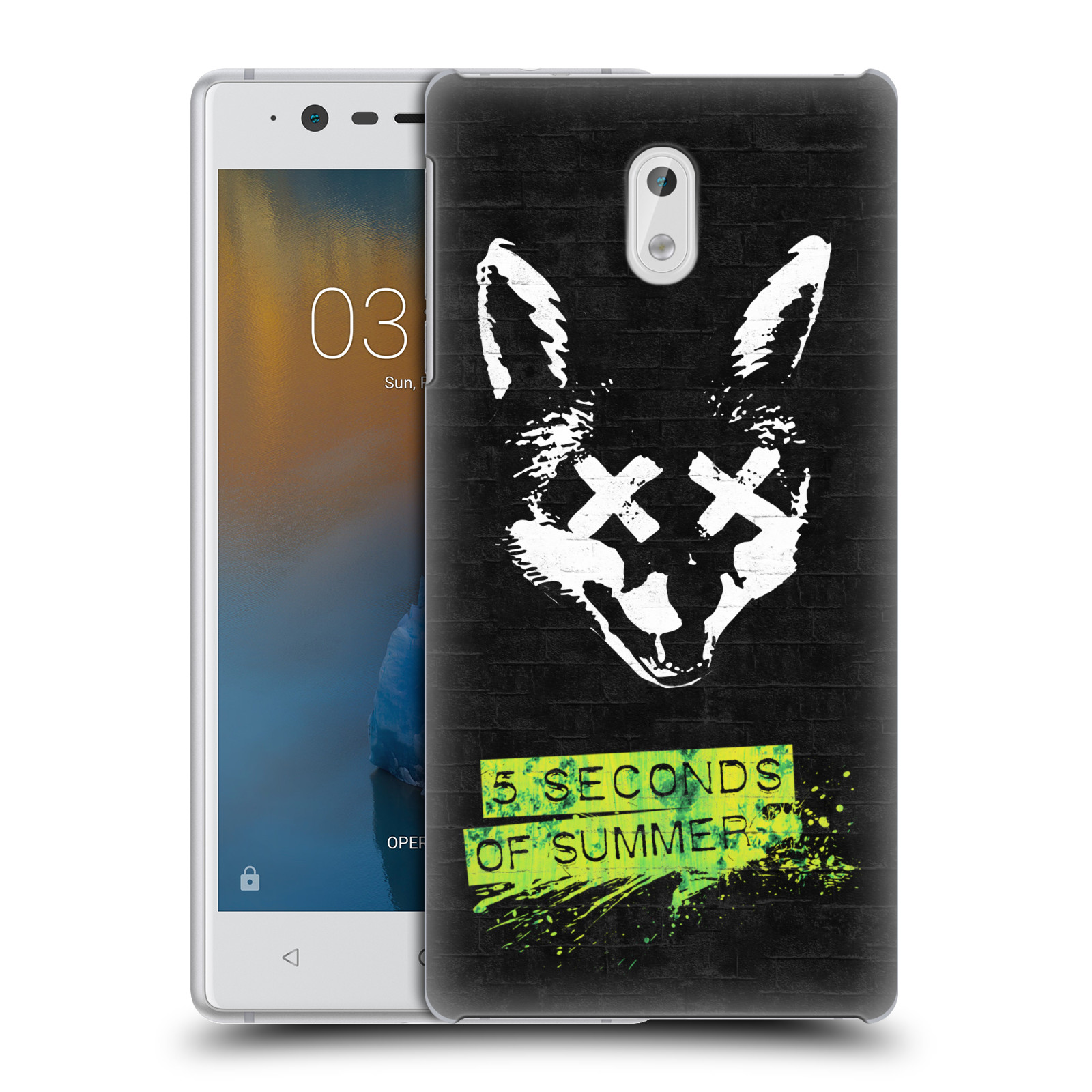 Plastové pouzdro na mobil Nokia 3 Head Case - 5 Seconds of Summer - Fox