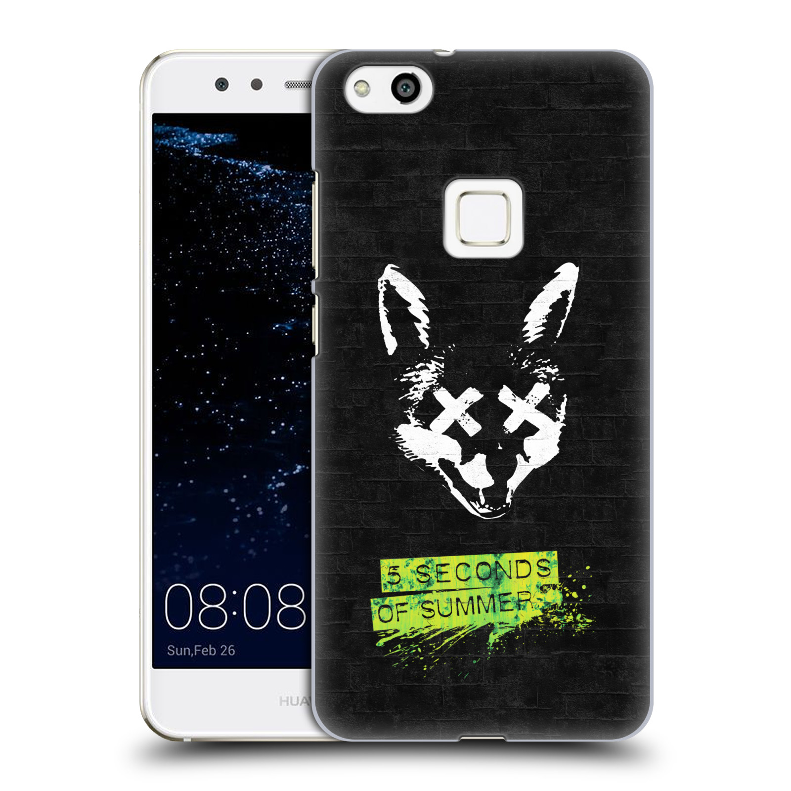 Plastové pouzdro na mobil Huawei P10 Lite Head Case - 5 Seconds of Summer - Fox