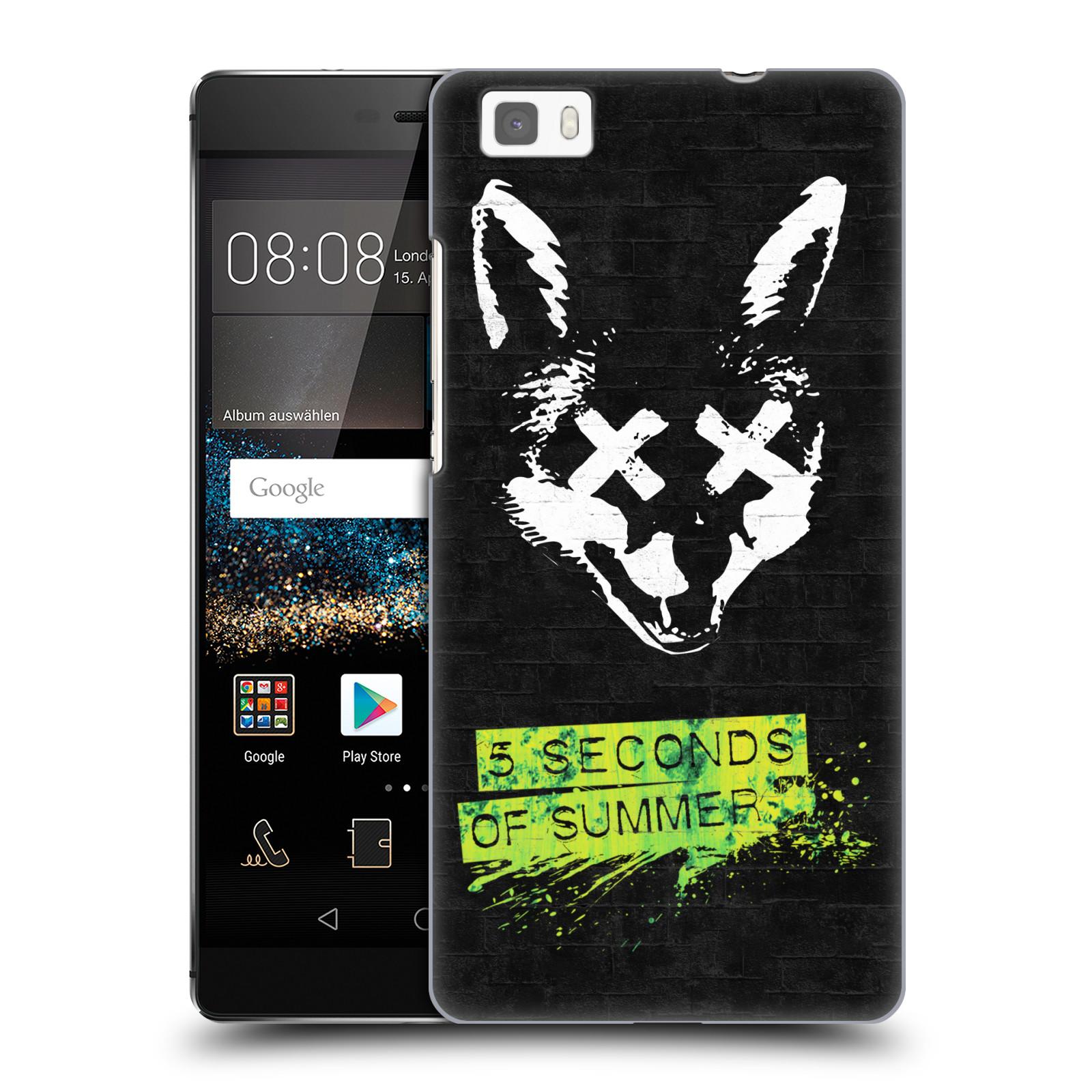 Plastové pouzdro na mobil Huawei P8 Lite HEAD CASE 5 Seconds of Summer - Fox