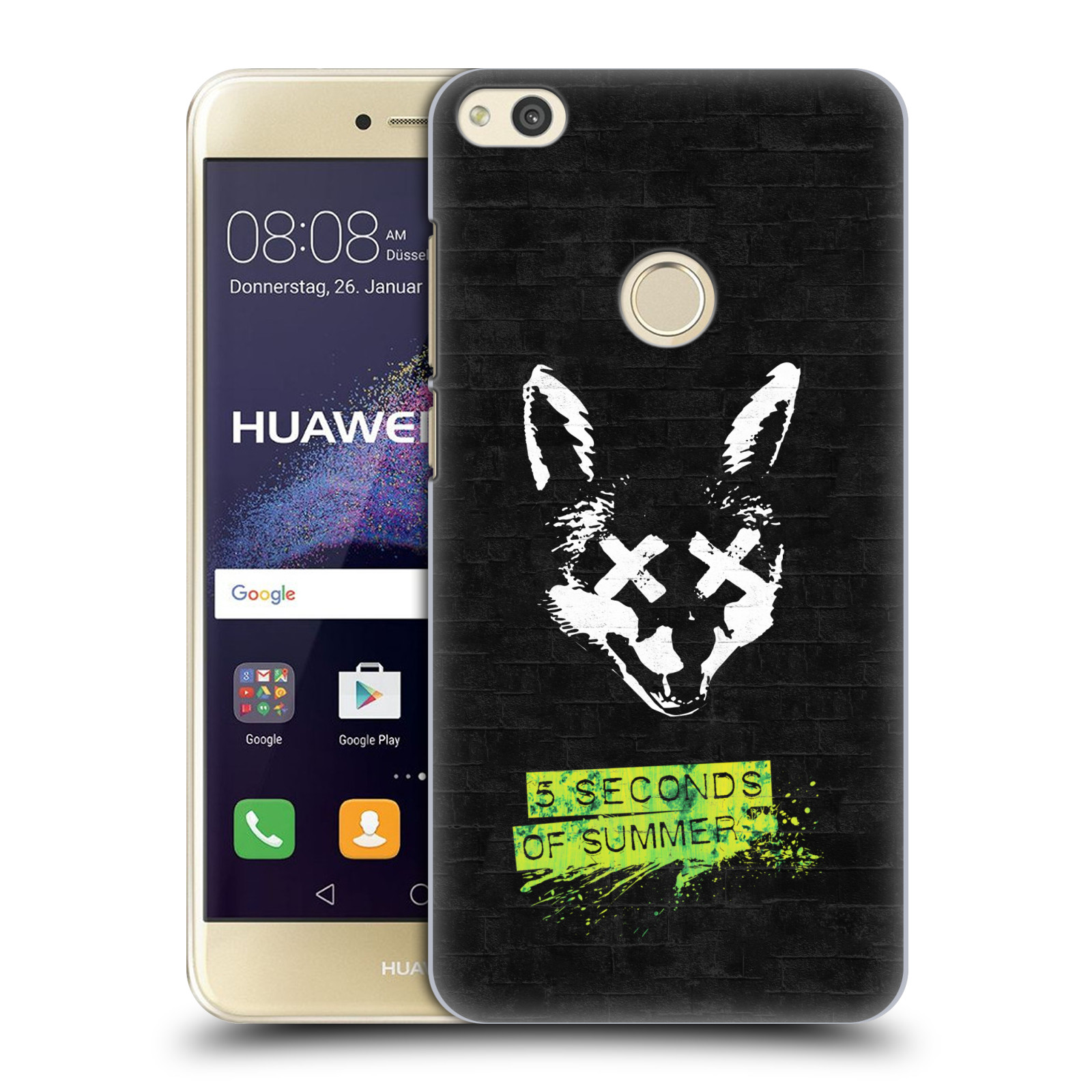 Plastové pouzdro na mobil Huawei P9 Lite (2017) - Head Case 5 Seconds of Summer - Fox