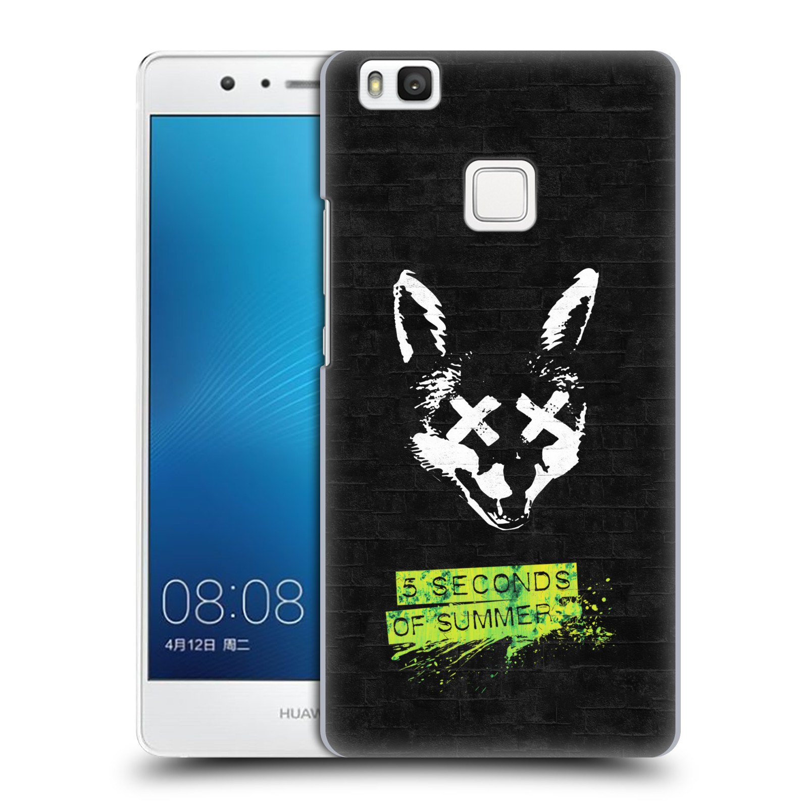 Plastové pouzdro na mobil Huawei P9 Lite HEAD CASE 5 Seconds of Summer - Fox