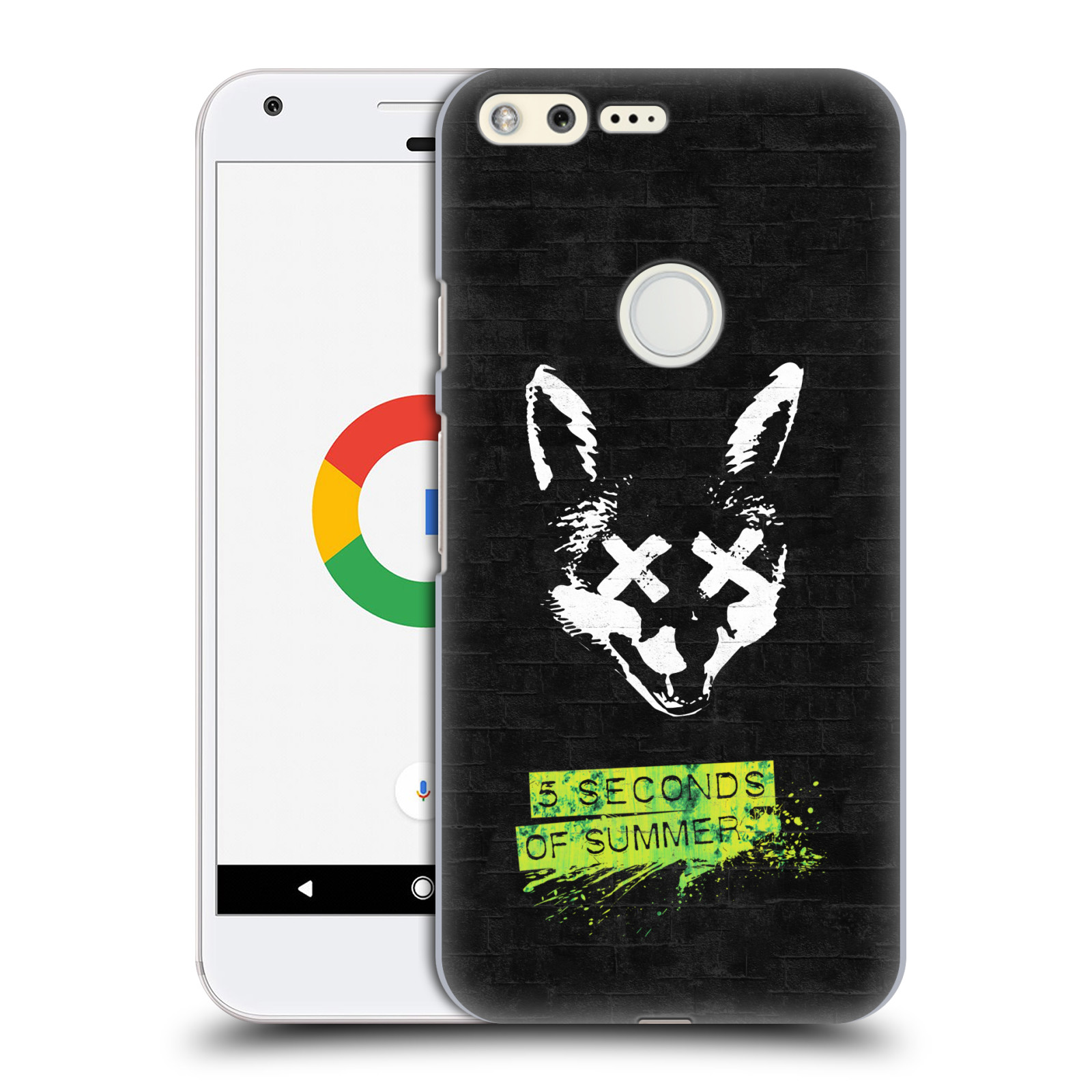 Plastové pouzdro na mobil Google Pixel HEAD CASE 5 Seconds of Summer - Fox