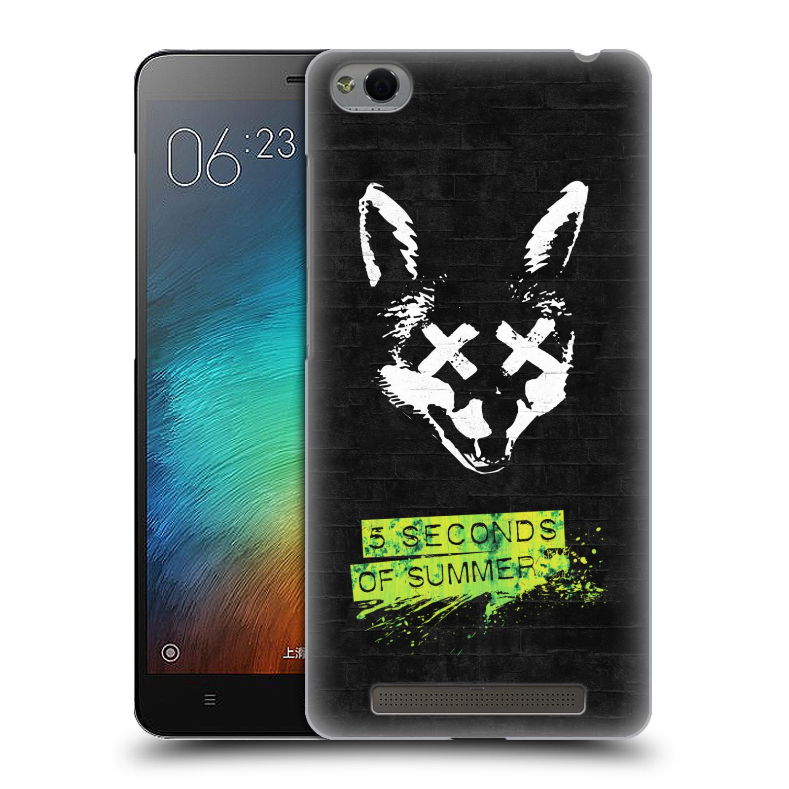 Plastové pouzdro na mobil Xiaomi Redmi 3 HEAD CASE 5 Seconds of Summer - Fox