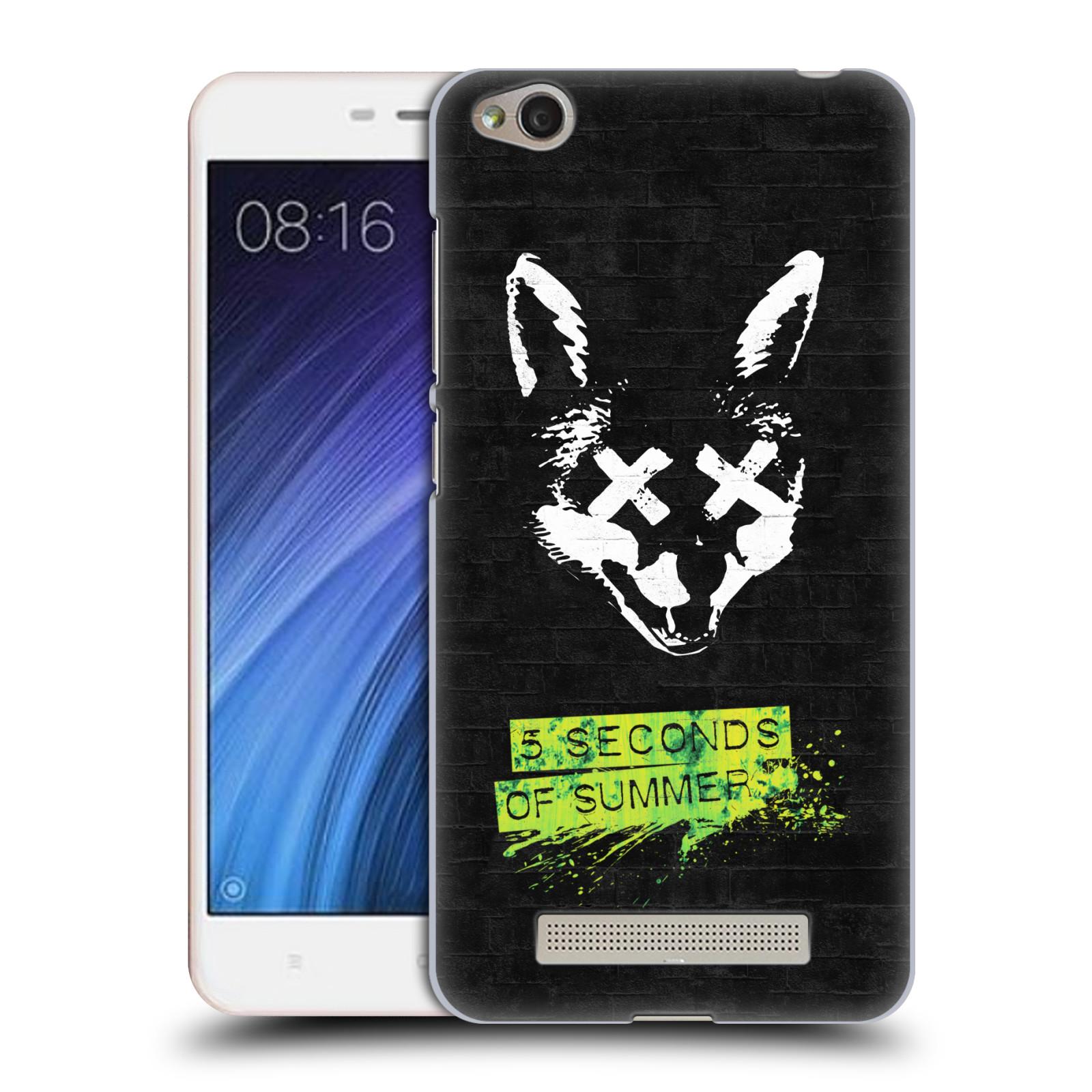 Plastové pouzdro na mobil Xiaomi Redmi 4A HEAD CASE 5 Seconds of Summer - Fox