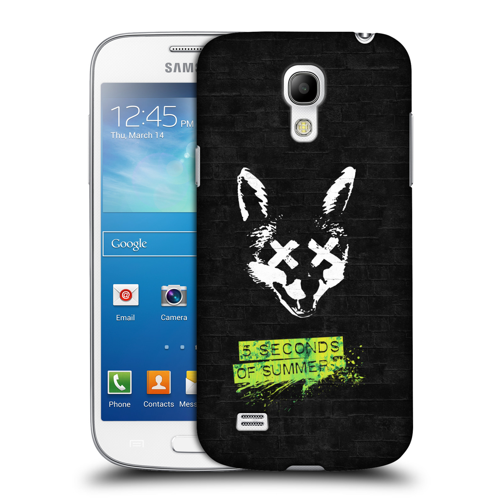 Plastové pouzdro na mobil Samsung Galaxy S4 Mini VE HEAD CASE 5 Seconds of Summer - Fox