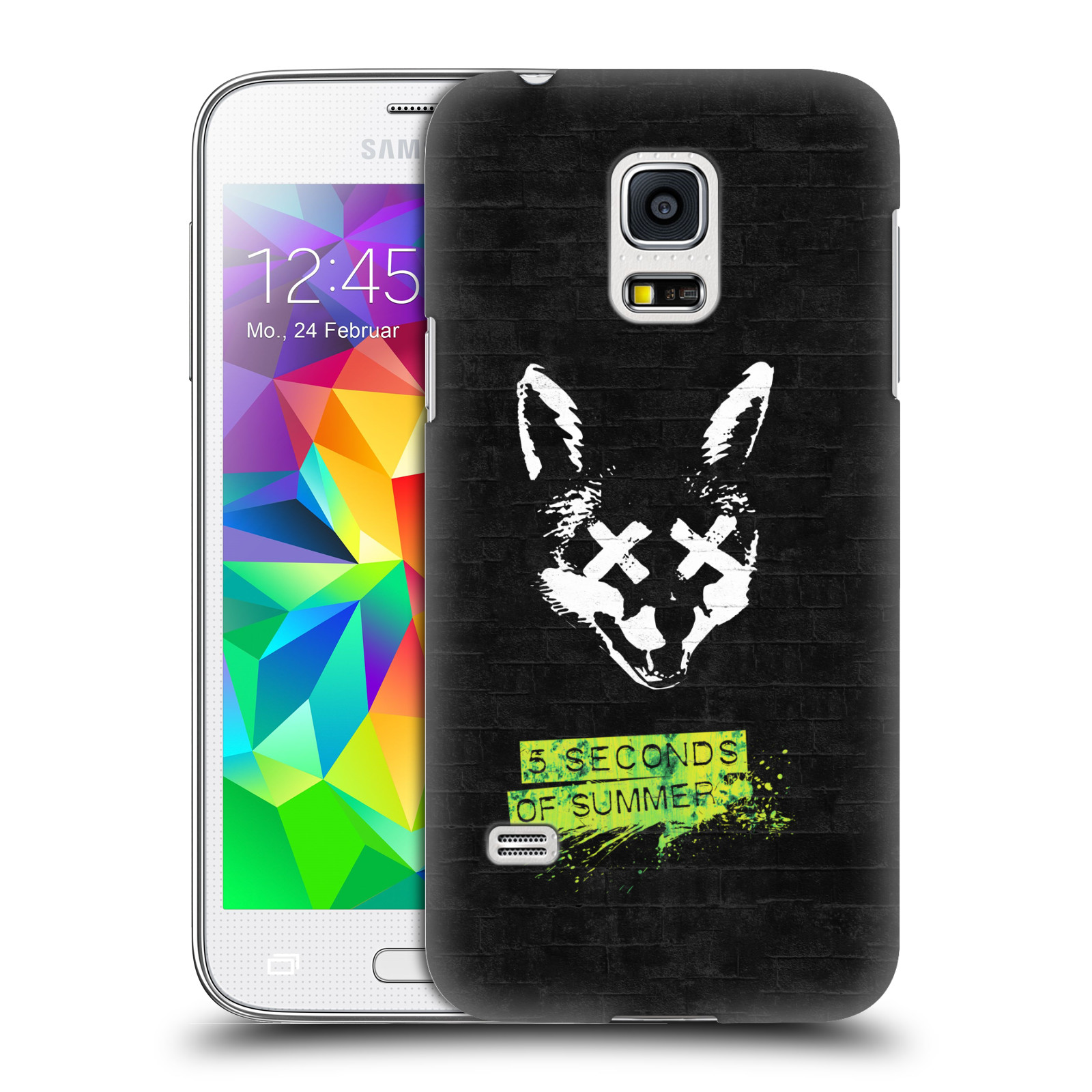 Plastové pouzdro na mobil Samsung Galaxy S5 Mini HEAD CASE 5 Seconds of Summer - Fox