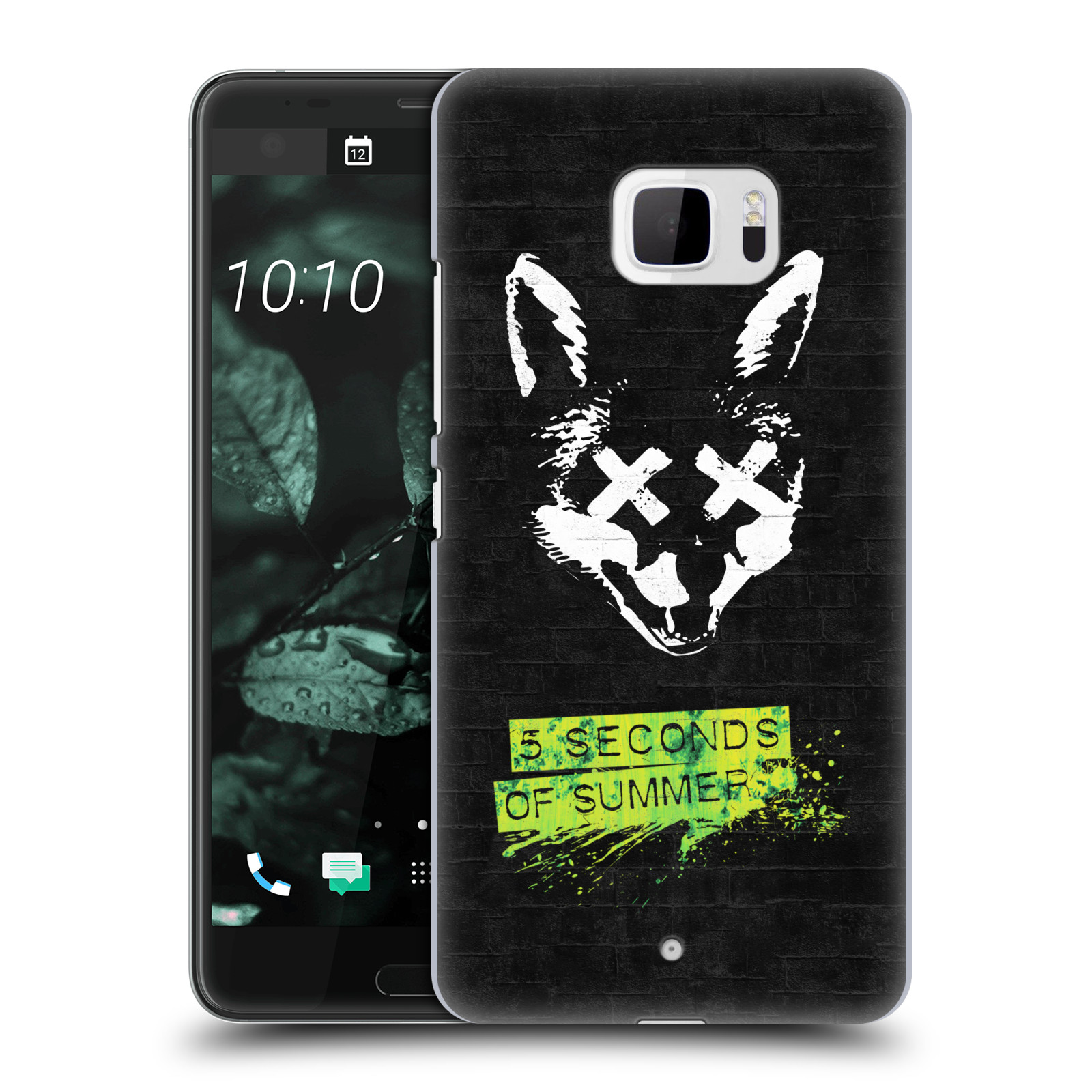 Plastové pouzdro na mobil HTC U Ultra Head Case - 5 Seconds of Summer - Fox