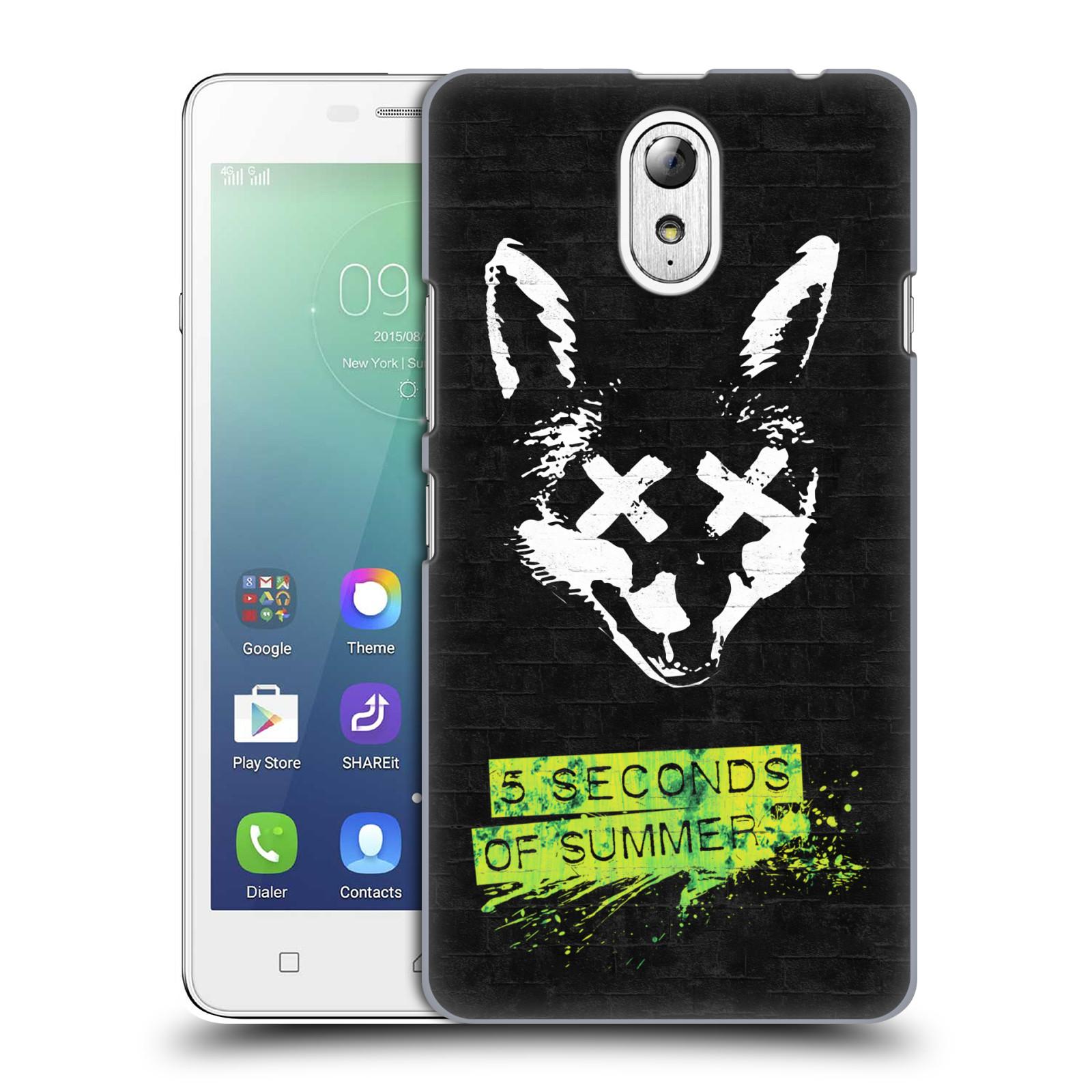 Plastové pouzdro na mobil Lenovo Vibe P1m HEAD CASE 5 Seconds of Summer - Fox