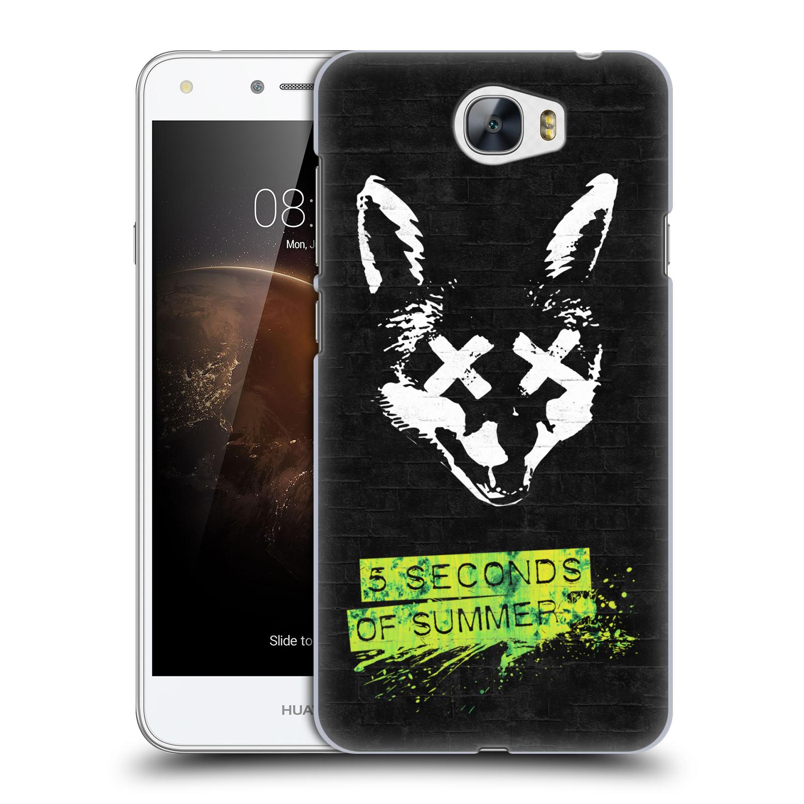 Plastové pouzdro na mobil Huawei Y5 II HEAD CASE 5 Seconds of Summer - Fox
