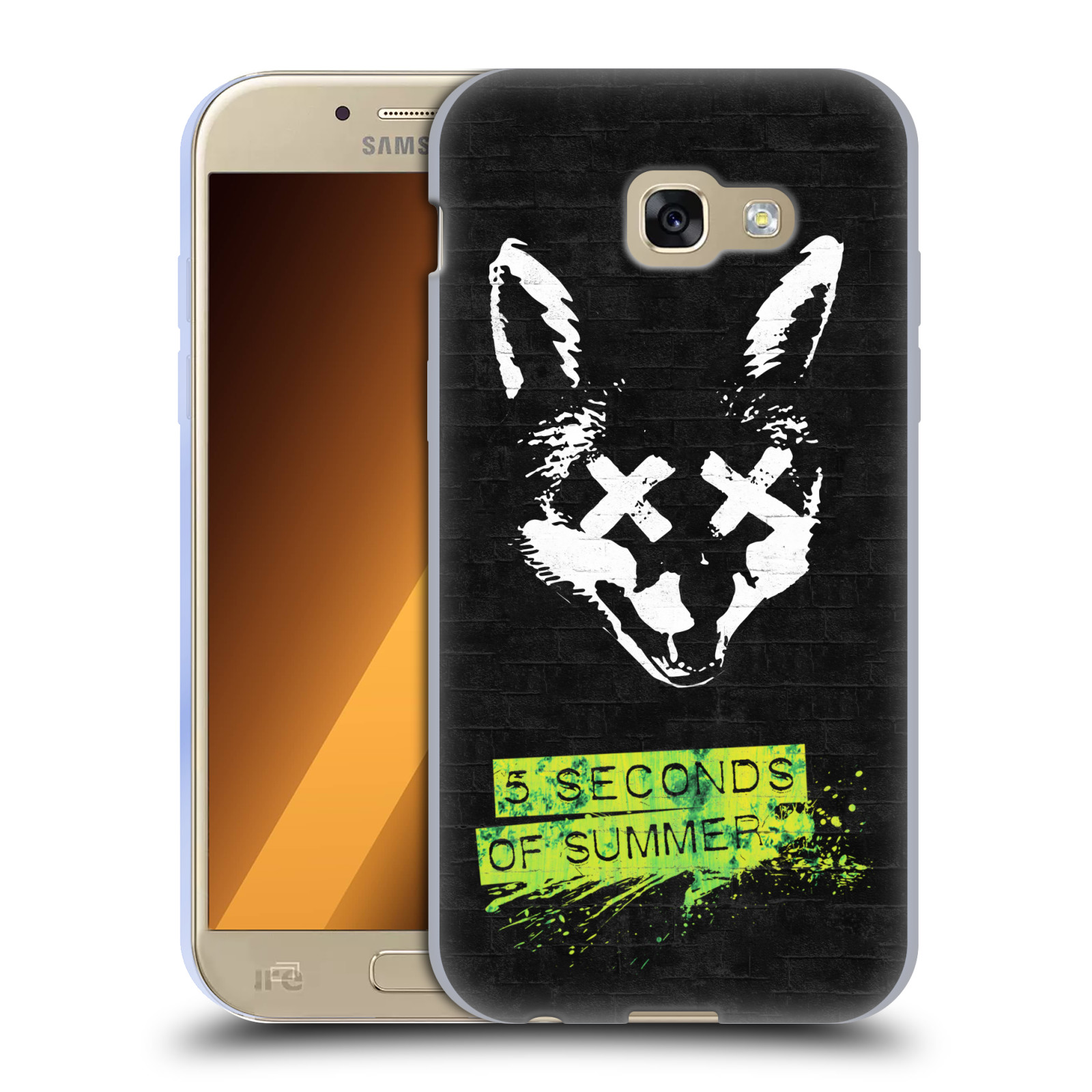 Silikonové pouzdro na mobil Samsung Galaxy A5 (2017) HEAD CASE 5 Seconds of Summer - Fox