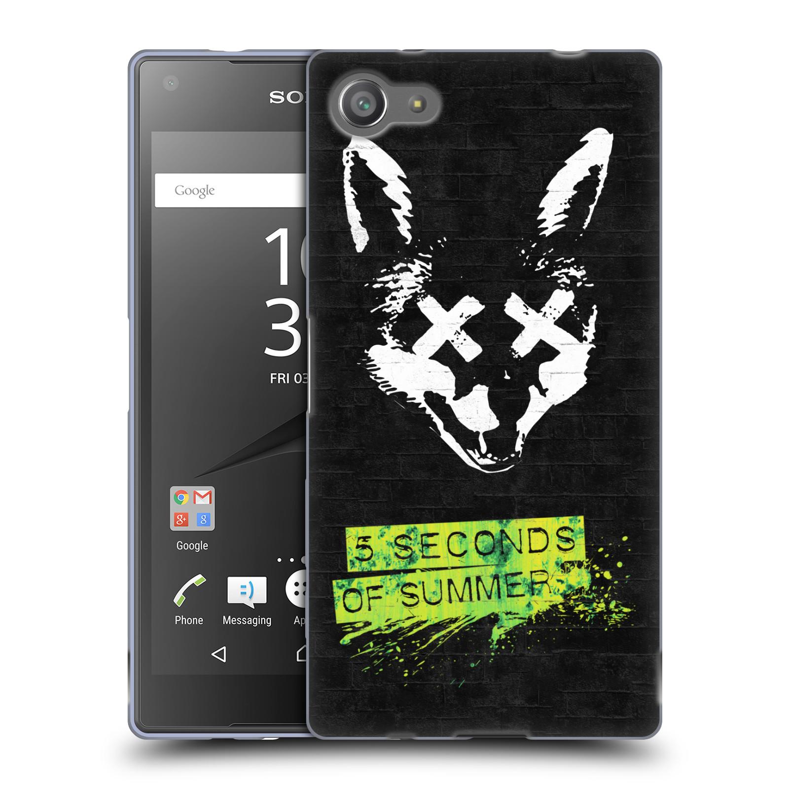 Silikonové pouzdro na mobil Sony Xperia Z5 Compact HEAD CASE 5 Seconds of Summer - Fox