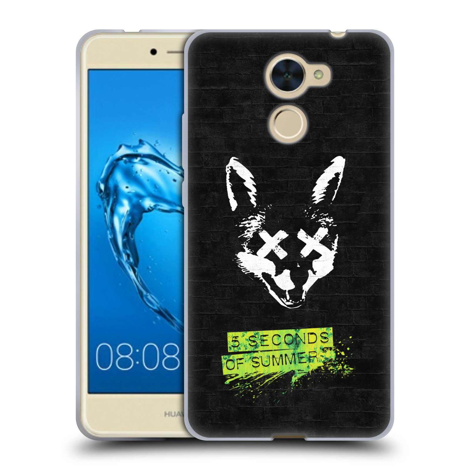 Silikonové pouzdro na mobil Huawei Y7 - Head Case - 5 Seconds of Summer - Fox