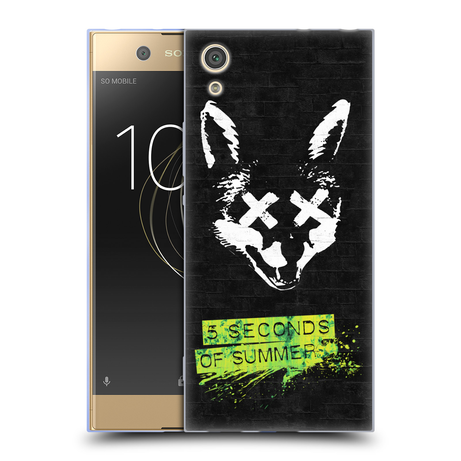 Silikonové pouzdro na mobil Sony Xperia XA1 - Head Case - 5 Seconds of Summer - Fox