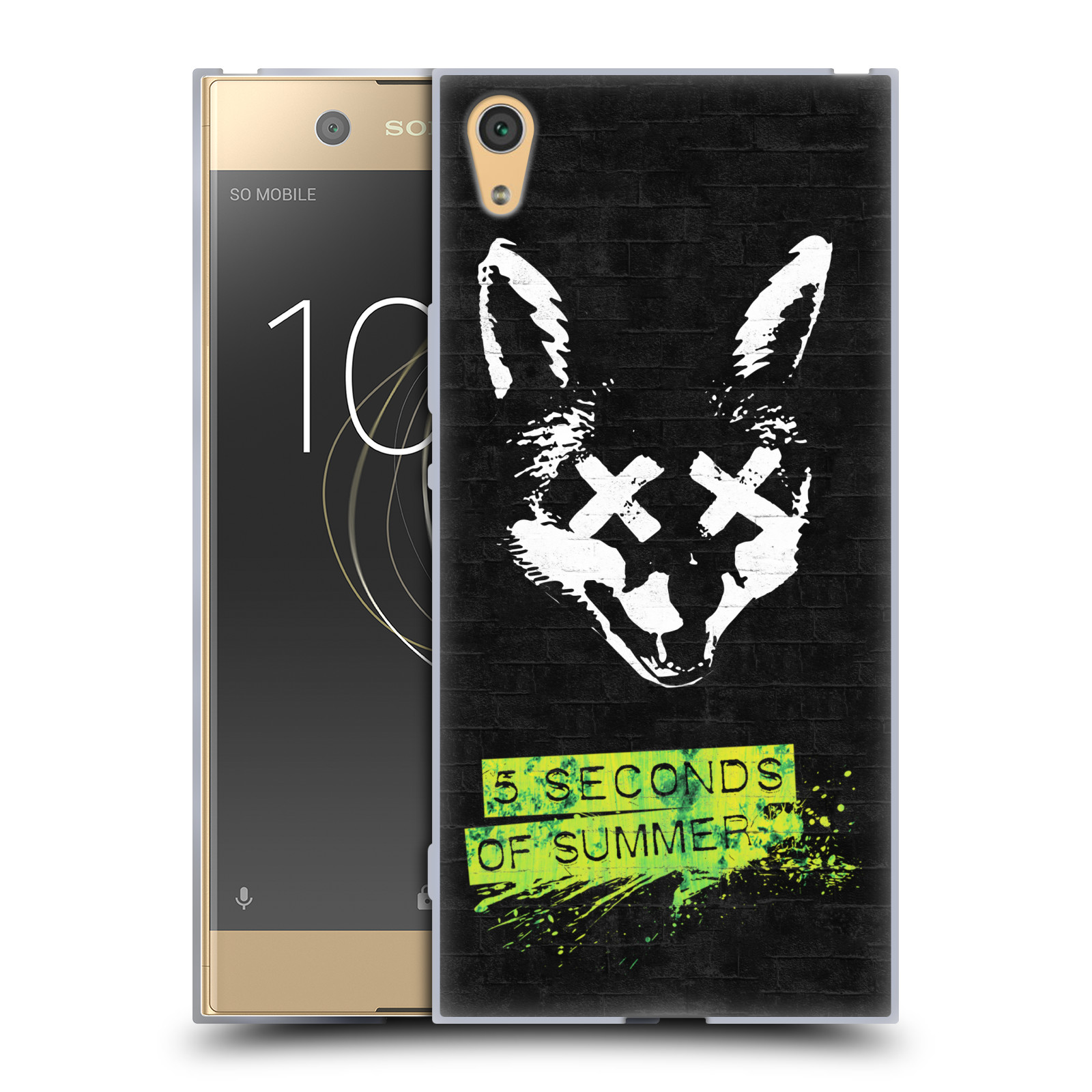 Silikonové pouzdro na mobil Sony Xperia XA1 Ultra - Head Case - 5 Seconds of Summer - Fox