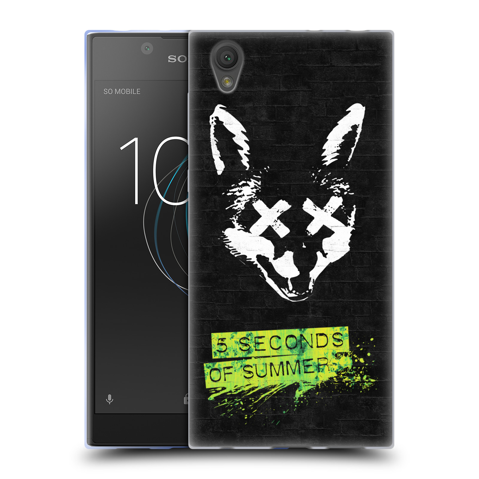 Silikonové pouzdro na mobil Sony Xperia L1 - Head Case - 5 Seconds of Summer - Fox