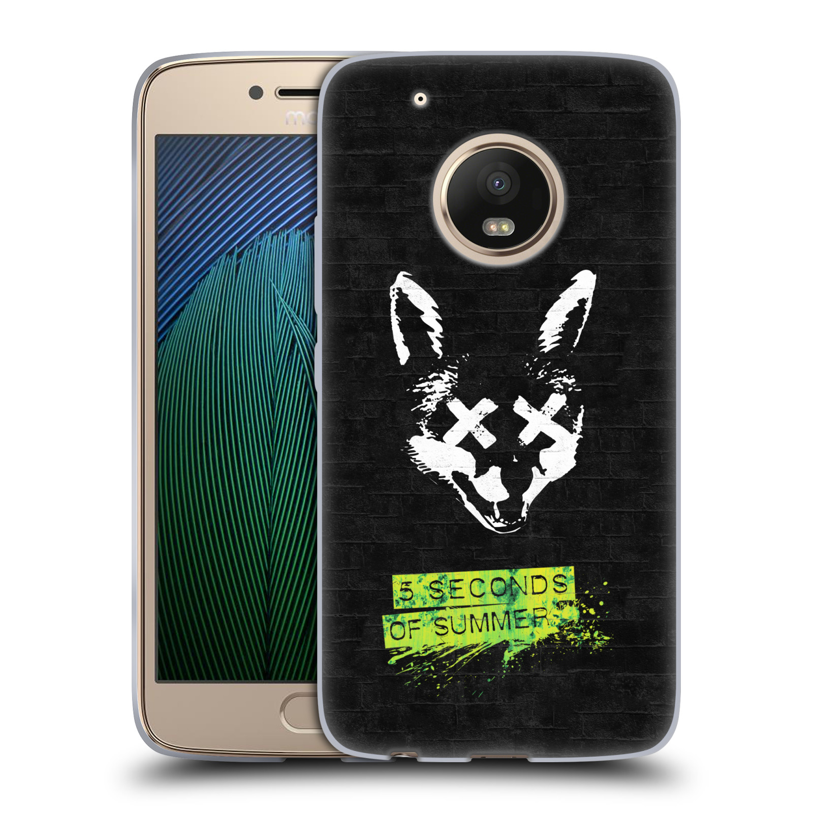Silikonové pouzdro na mobil Lenovo Moto G5 Plus - Head Case 5 Seconds of Summer - Fox