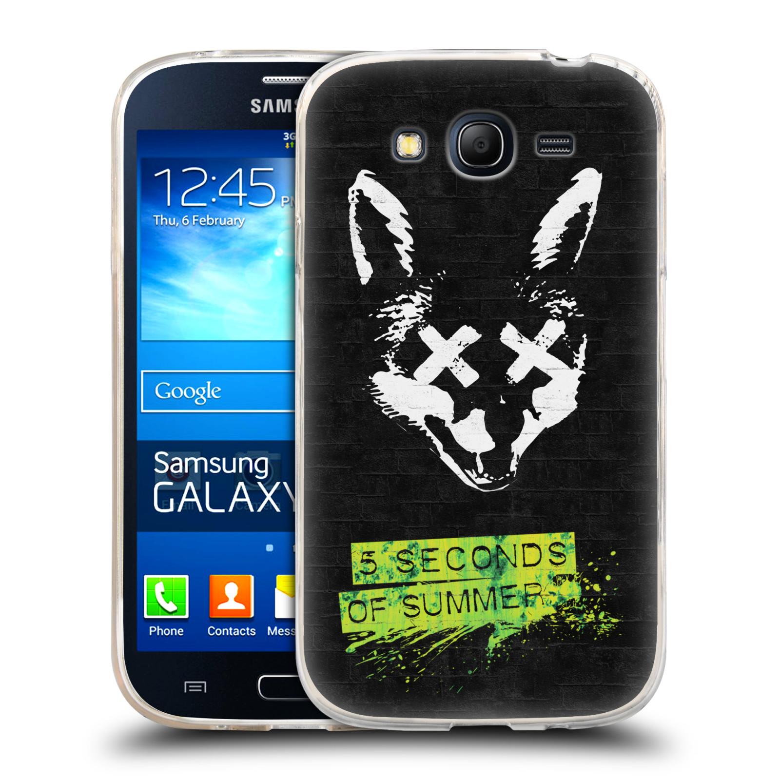 Silikonové pouzdro na mobil Samsung Galaxy Grand Neo Plus HEAD CASE 5 Seconds of Summer - Fox