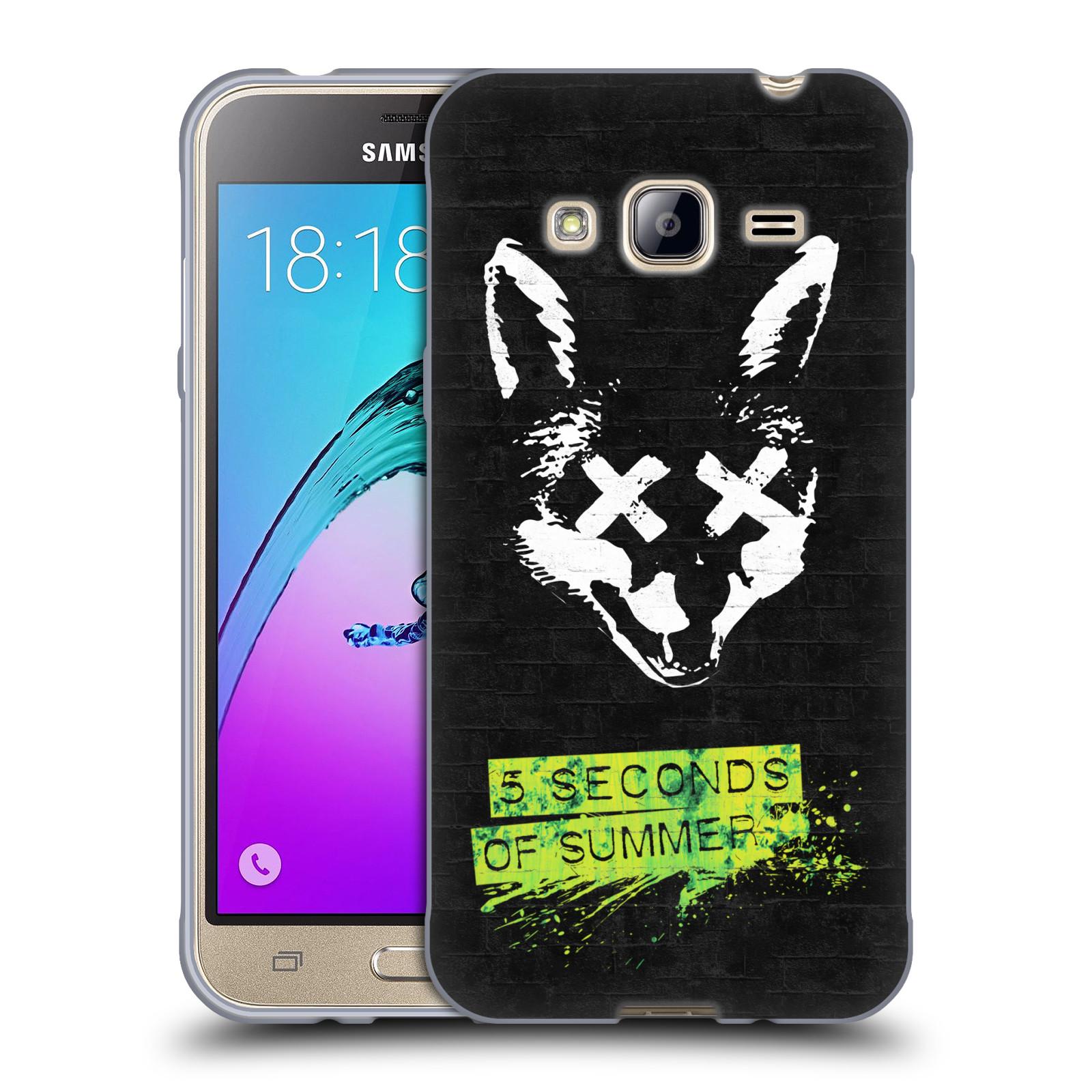 Silikonové pouzdro na mobil Samsung Galaxy J3 (2016) HEAD CASE 5 Seconds of Summer - Fox
