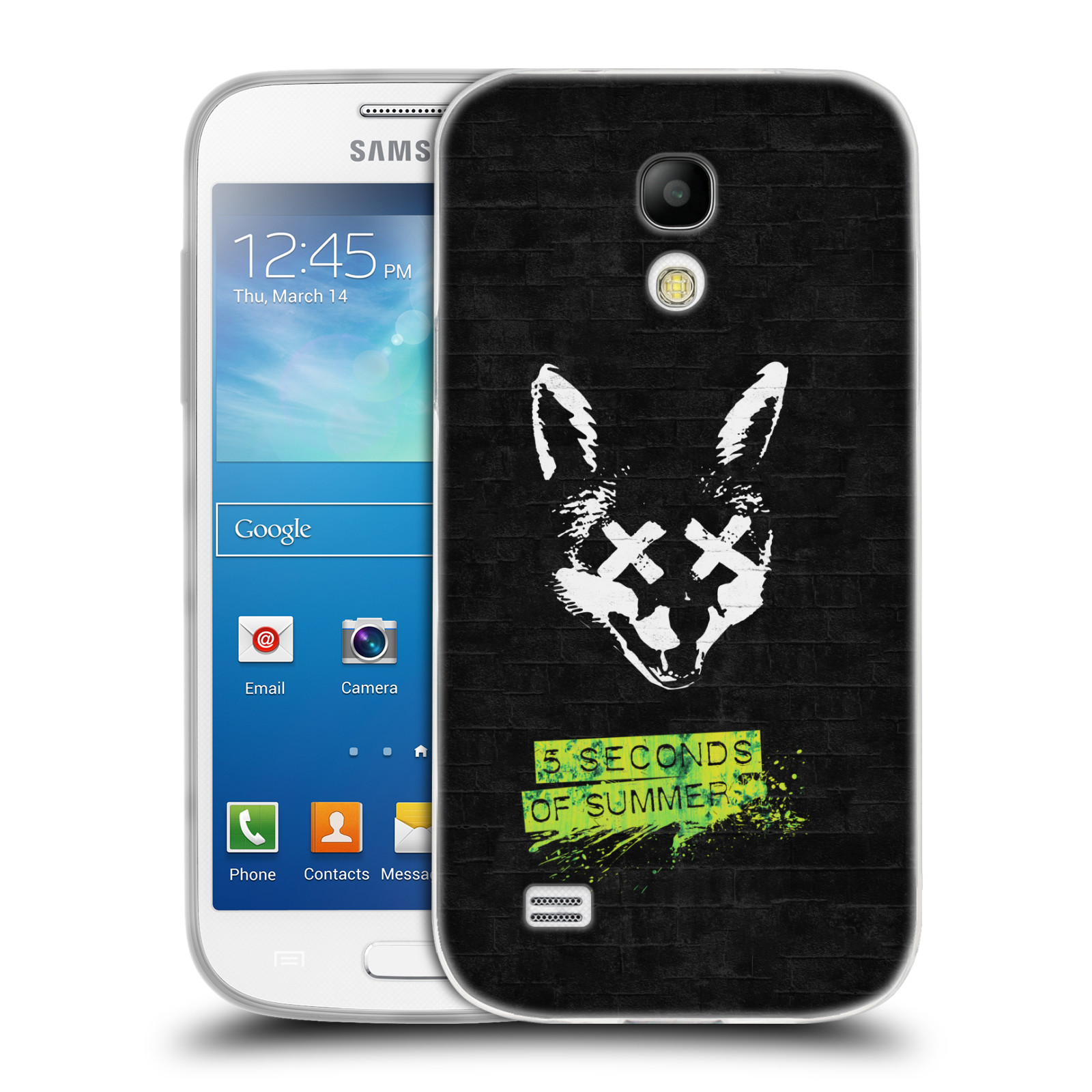 Silikonové pouzdro na mobil Samsung Galaxy S4 Mini HEAD CASE 5 Seconds of Summer - Fox