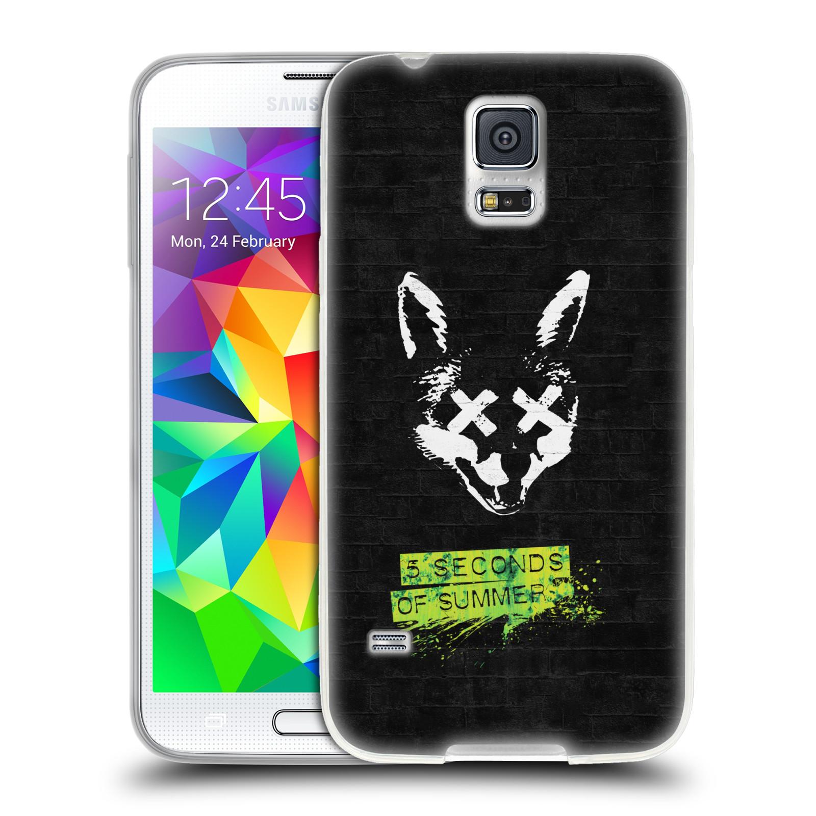 Silikonové pouzdro na mobil Samsung Galaxy S5 Neo HEAD CASE 5 Seconds of Summer - Fox