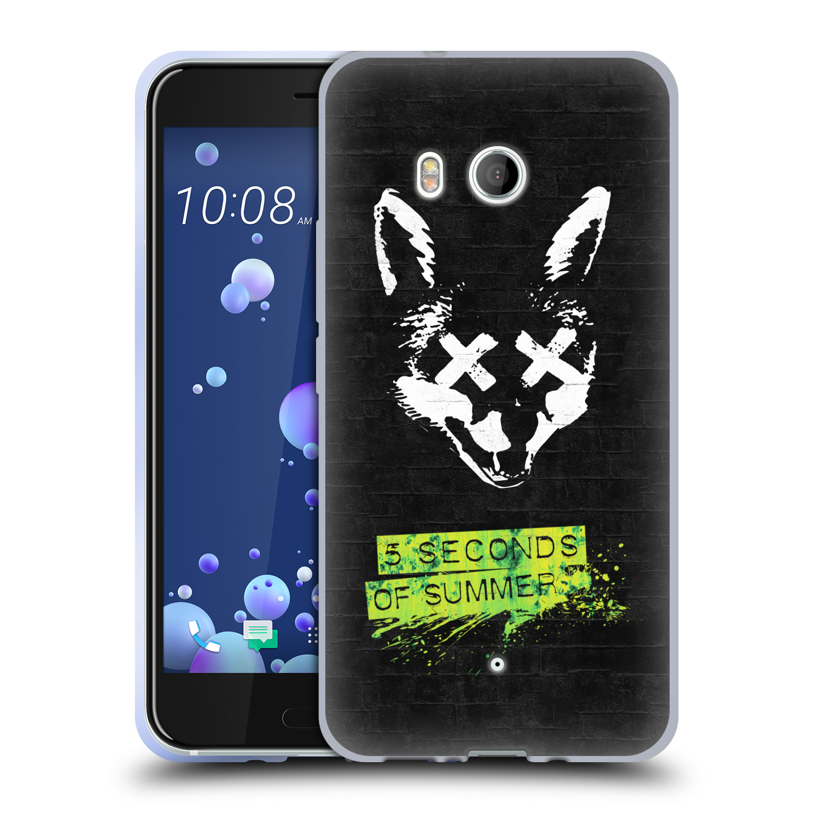 Silikonové pouzdro na mobil HTC U11 - Head Case - 5 Seconds of Summer - Fox