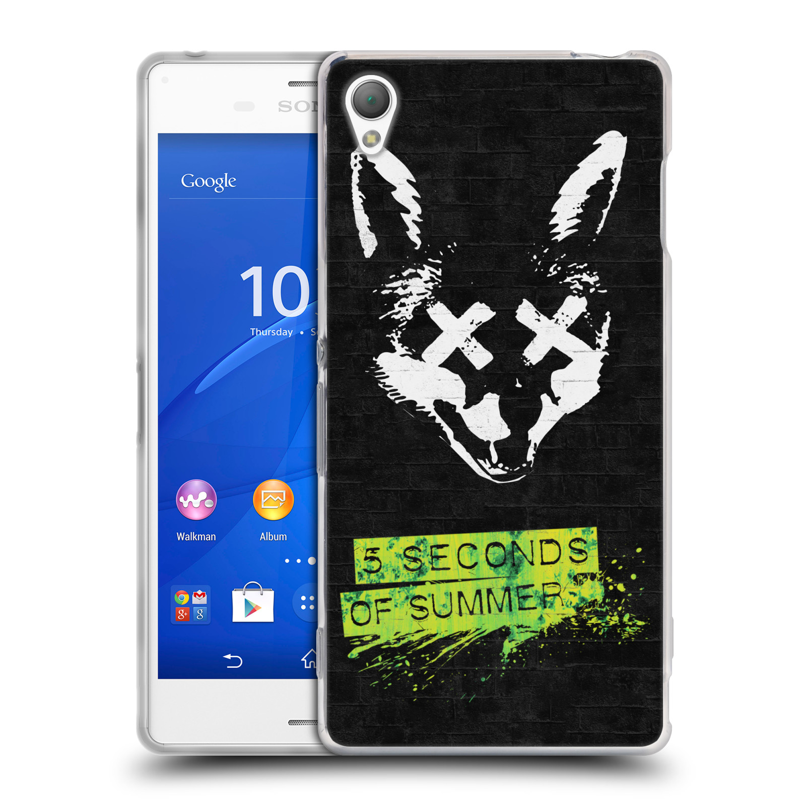 Silikonové pouzdro na mobil Sony Xperia Z3 D6603 HEAD CASE 5 Seconds of Summer - Fox