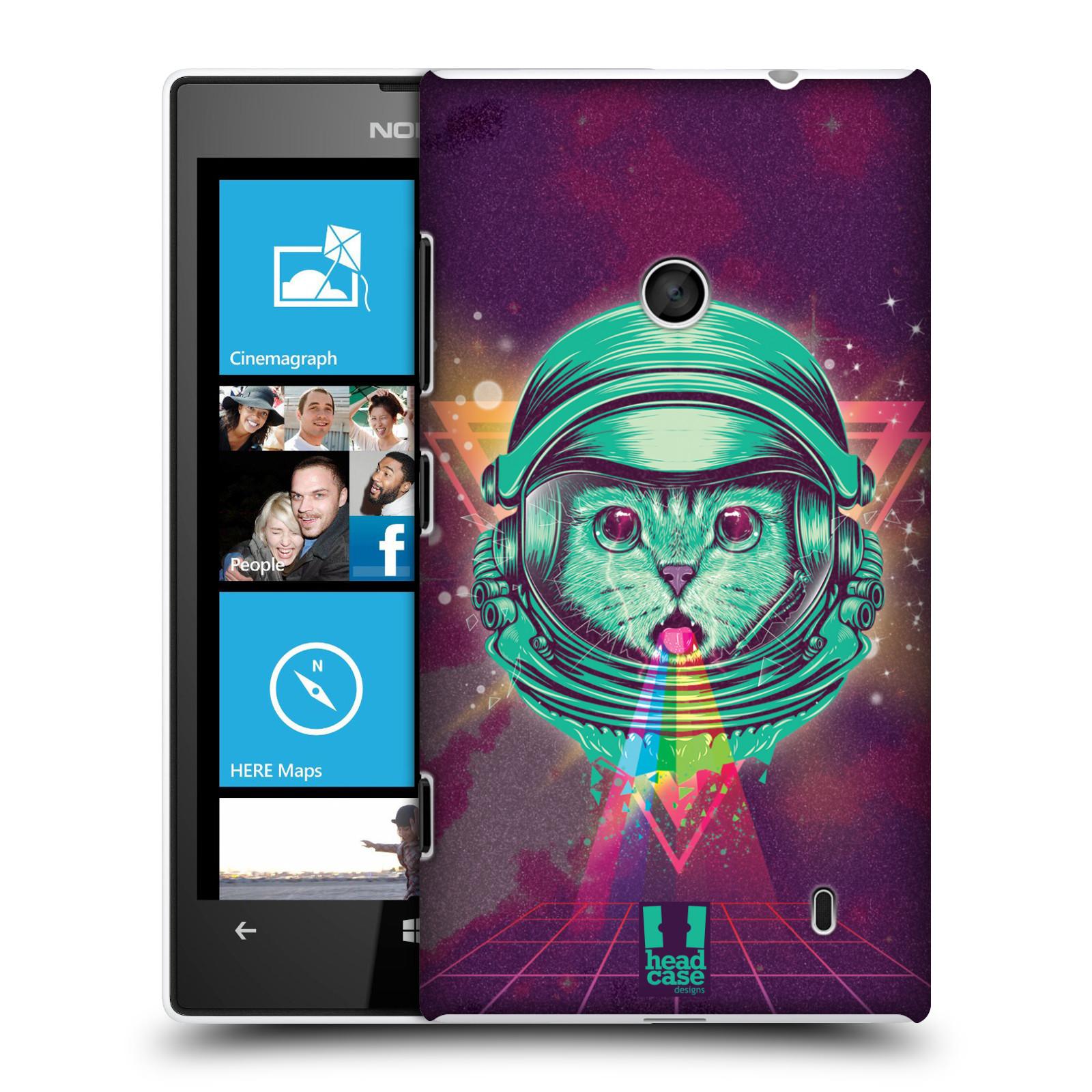 Plastové pouzdro na mobil Nokia Lumia 520 Head Case - Kóča ve skafandru