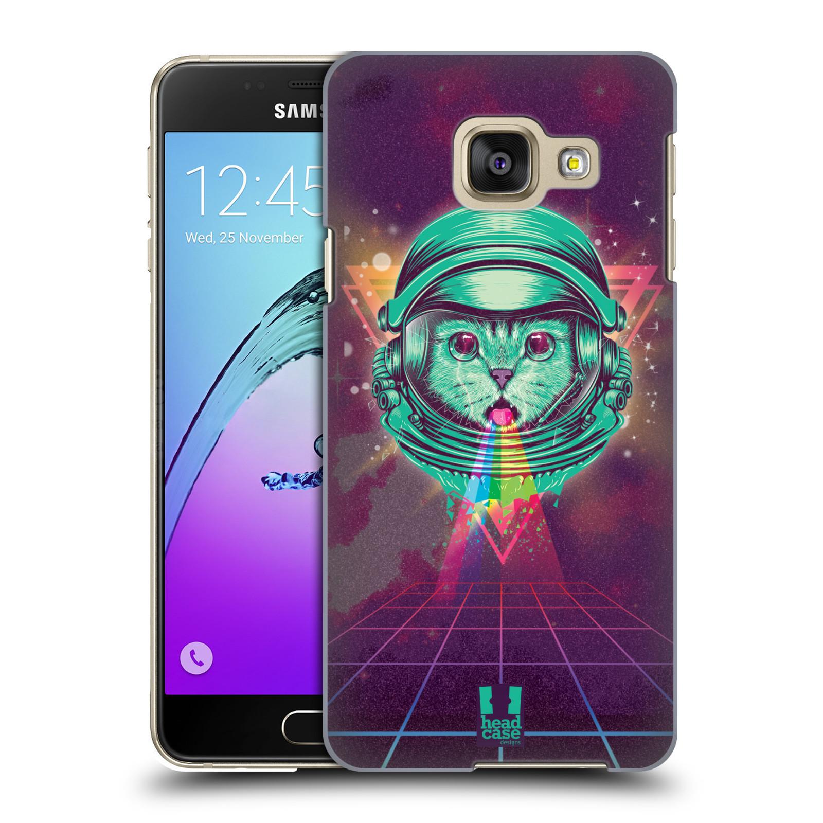 Plastové pouzdro na mobil Samsung Galaxy A3 (2016) Head Case - Kóča ve skafandru