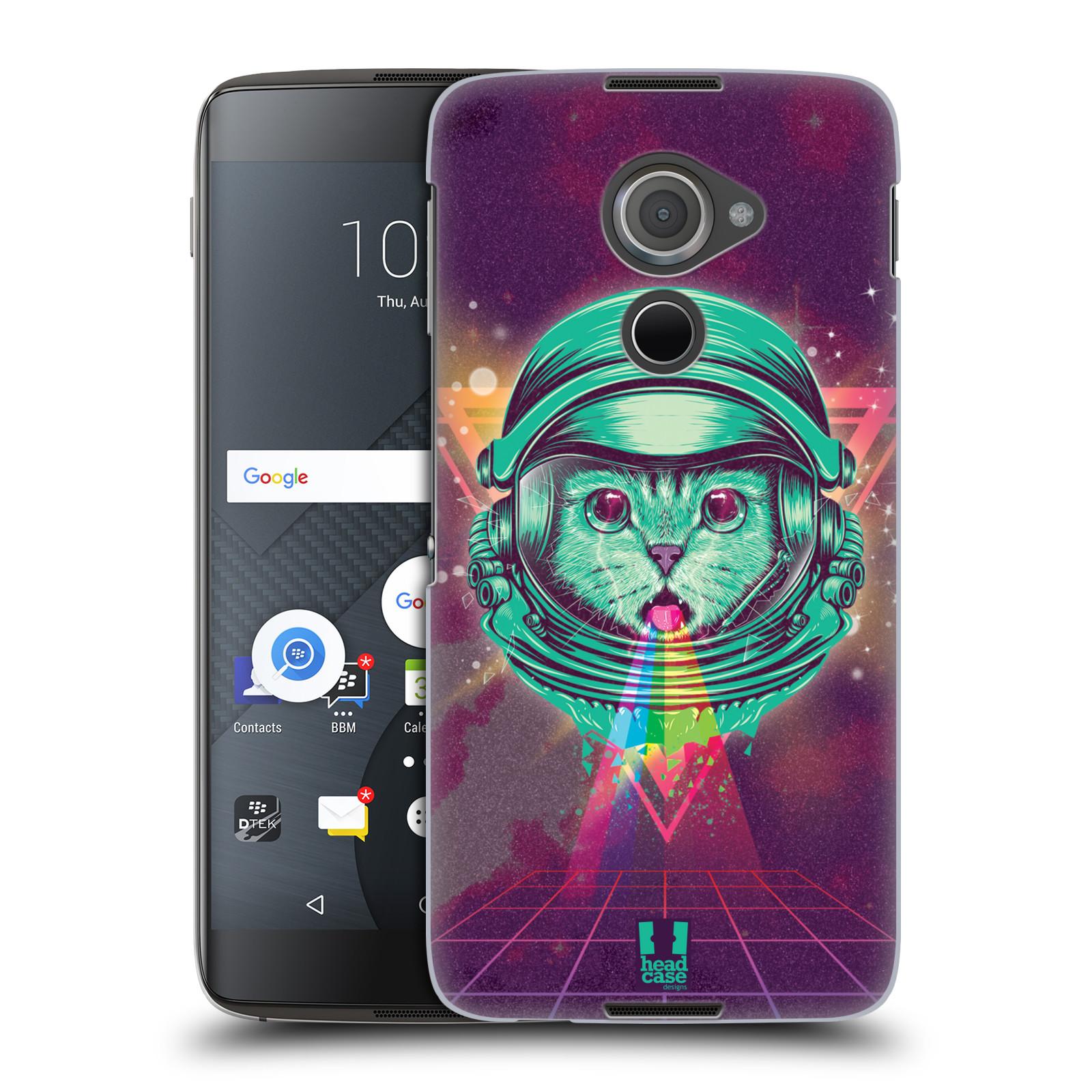 Plastové pouzdro na mobil Blackberry DTEK60 (Argon) - Head Case - Kóča ve skafandru