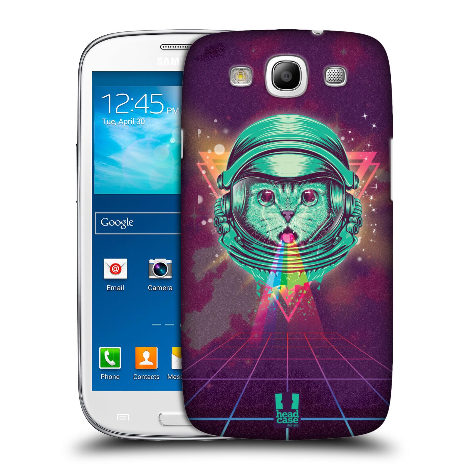 Plastové pouzdro na mobil Samsung Galaxy S III Head Case - Kóča ve skafandru