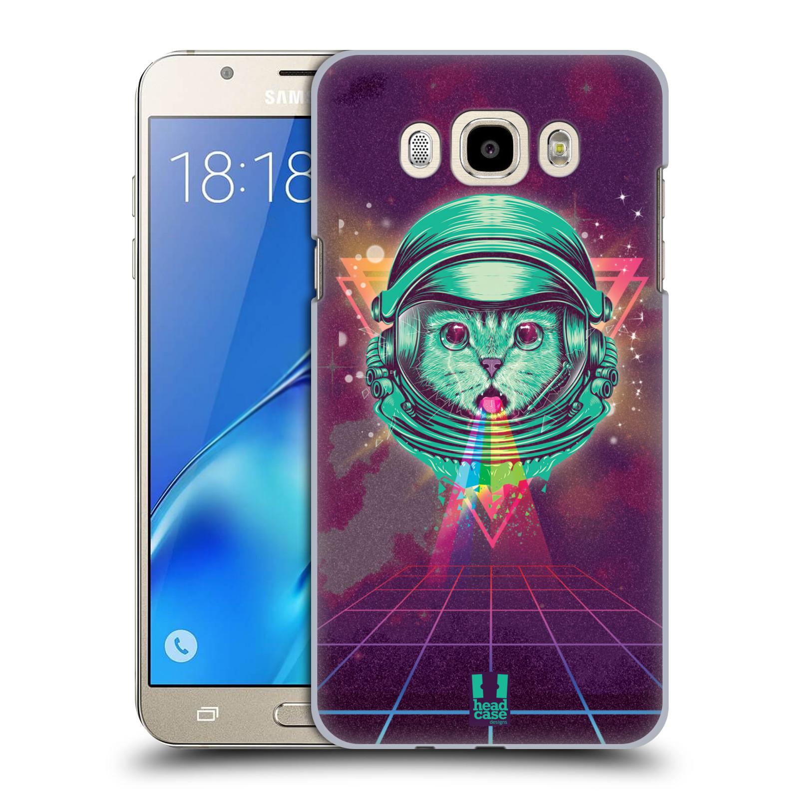 Plastové pouzdro na mobil Samsung Galaxy J7 (2016) Head Case - Kóča ve skafandru