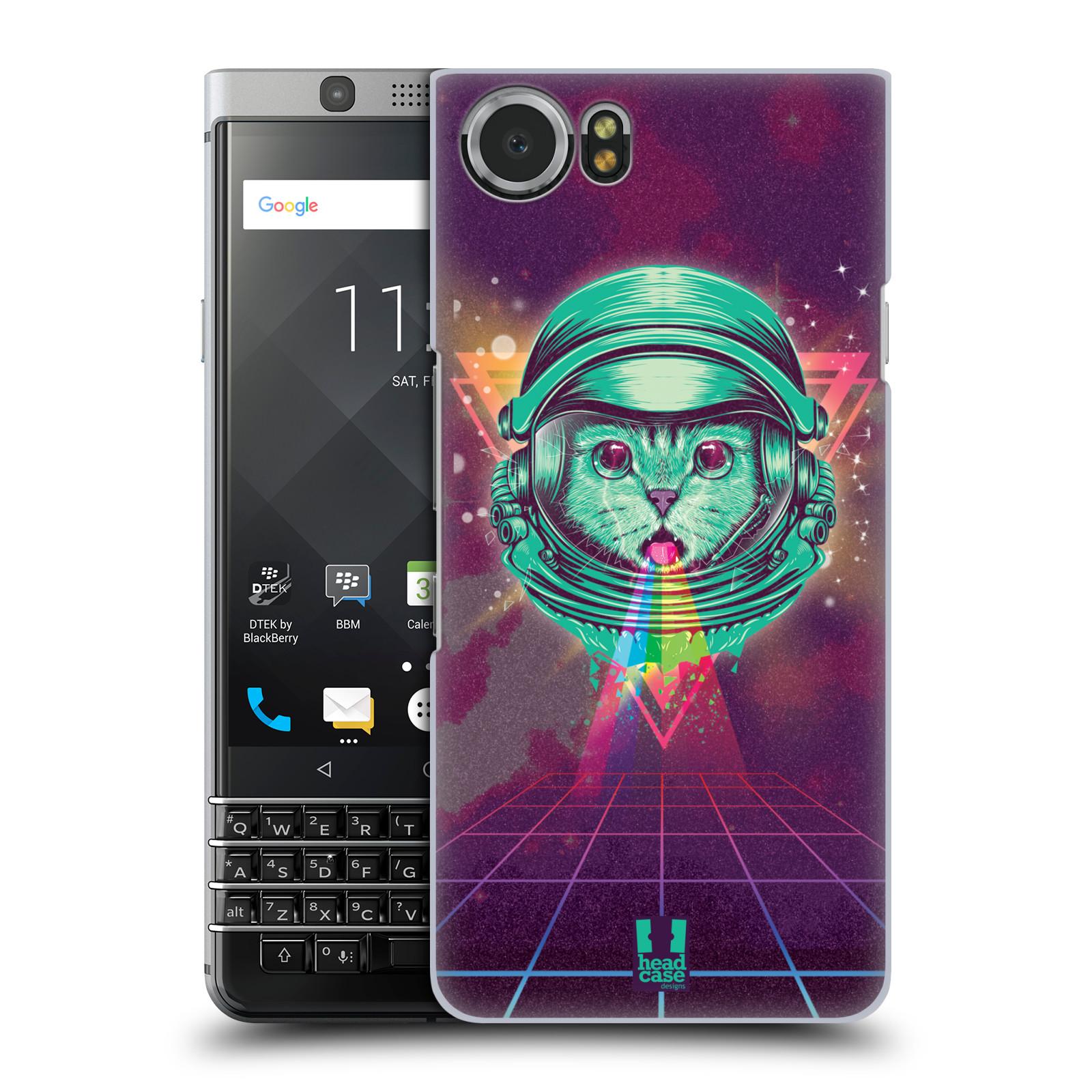 Plastové pouzdro na mobil BlackBerry KEYone - Head Case - Kóča ve skafandru