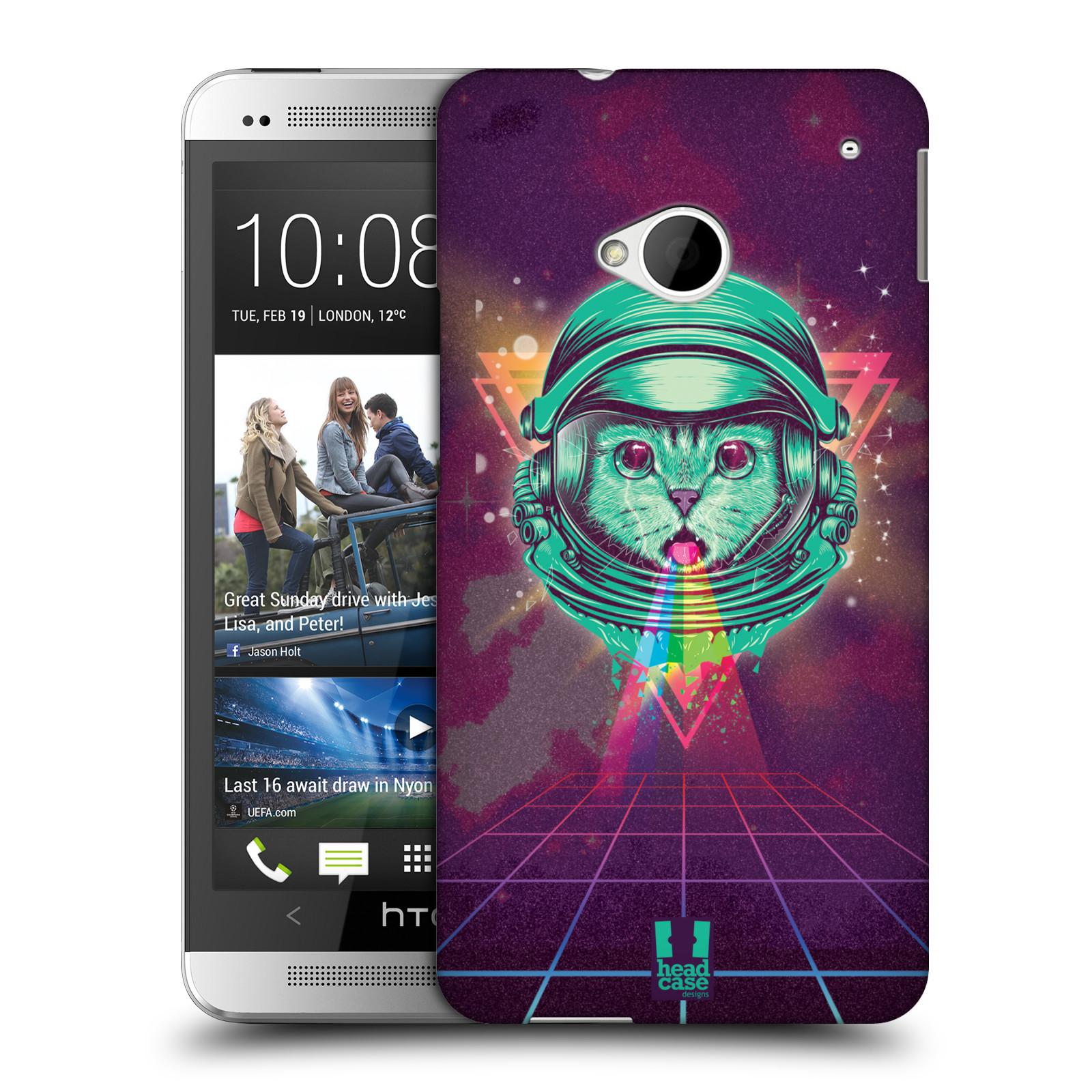 Plastové pouzdro na mobil HTC ONE M7 Head Case - Kóča ve skafandru