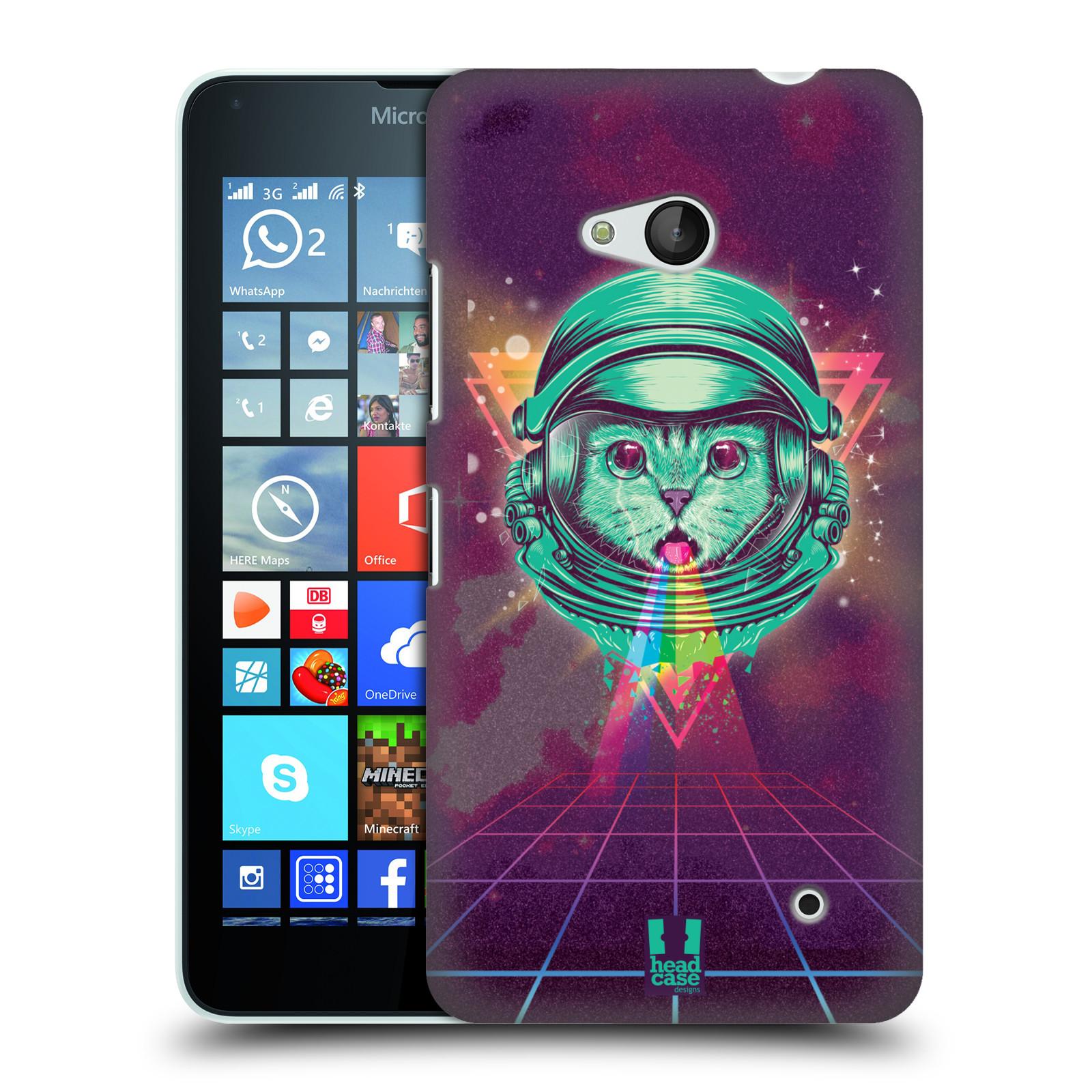 Plastové pouzdro na mobil Microsoft Lumia 640 Head Case - Kóča ve skafandru