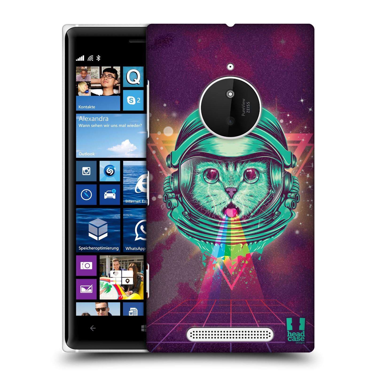 Plastové pouzdro na mobil Nokia Lumia 830 Head Case - Kóča ve skafandru