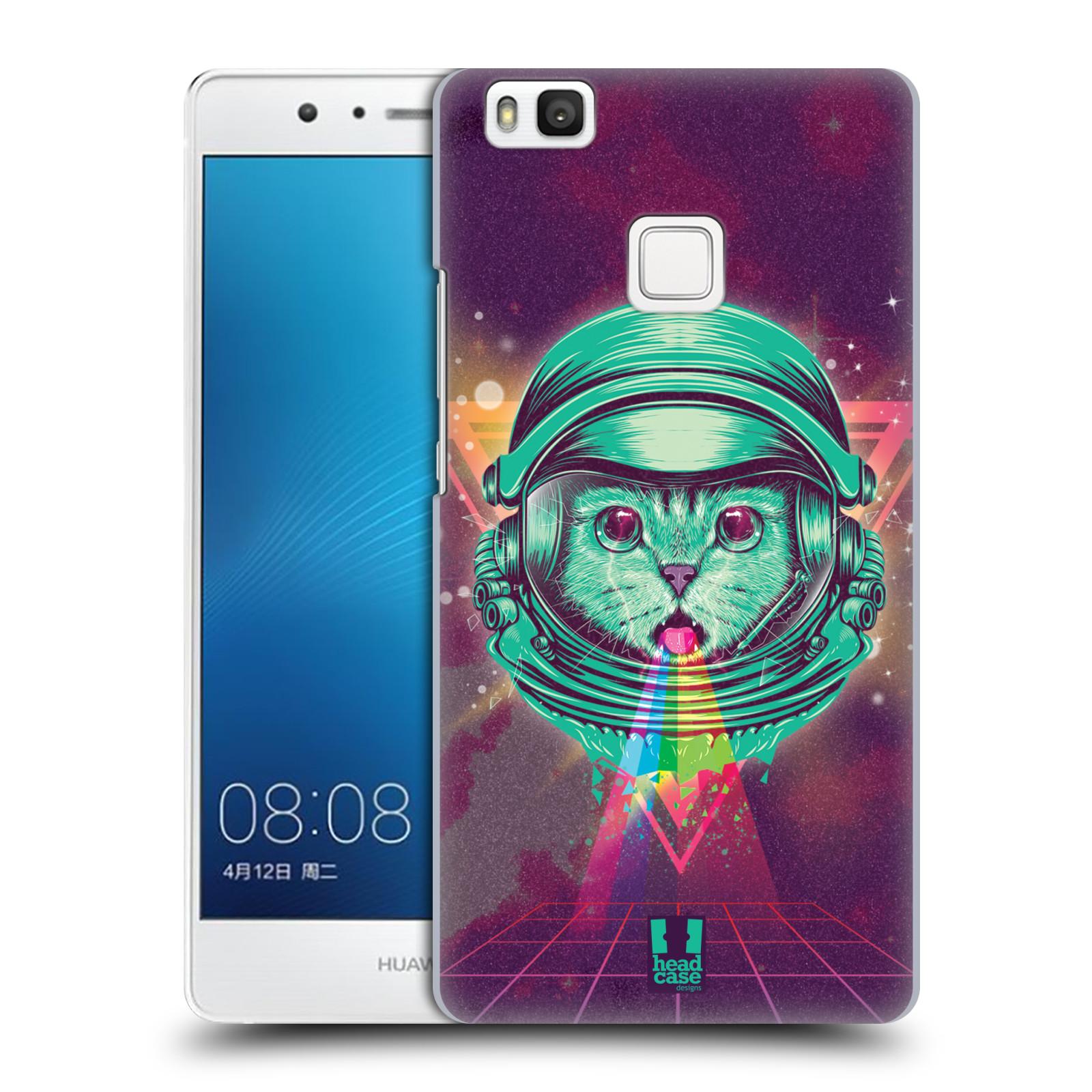 Plastové pouzdro na mobil Huawei P9 Lite Head Case - Kóča ve skafandru