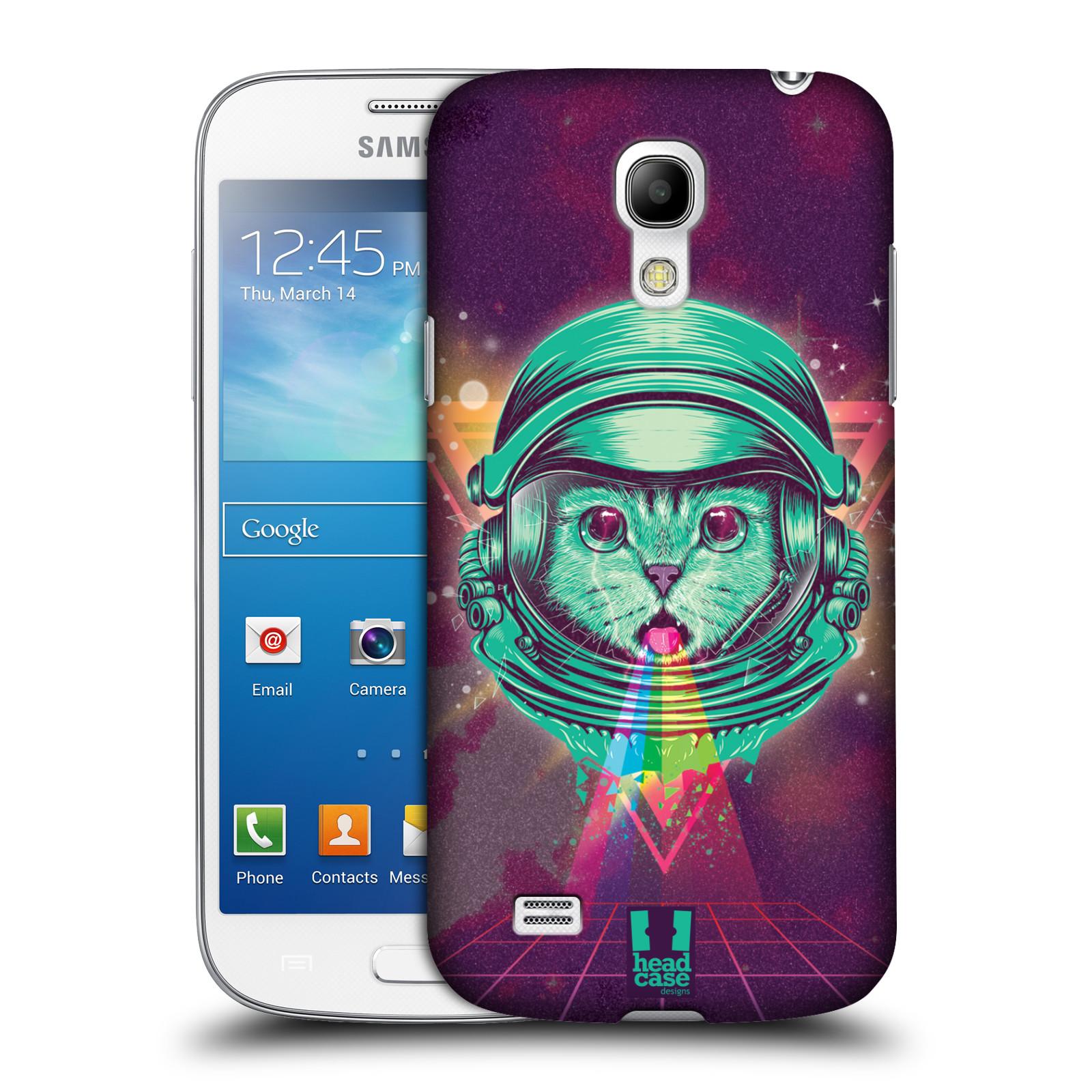 Plastové pouzdro na mobil Samsung Galaxy S4 Mini Head Case - Kóča ve skafandru