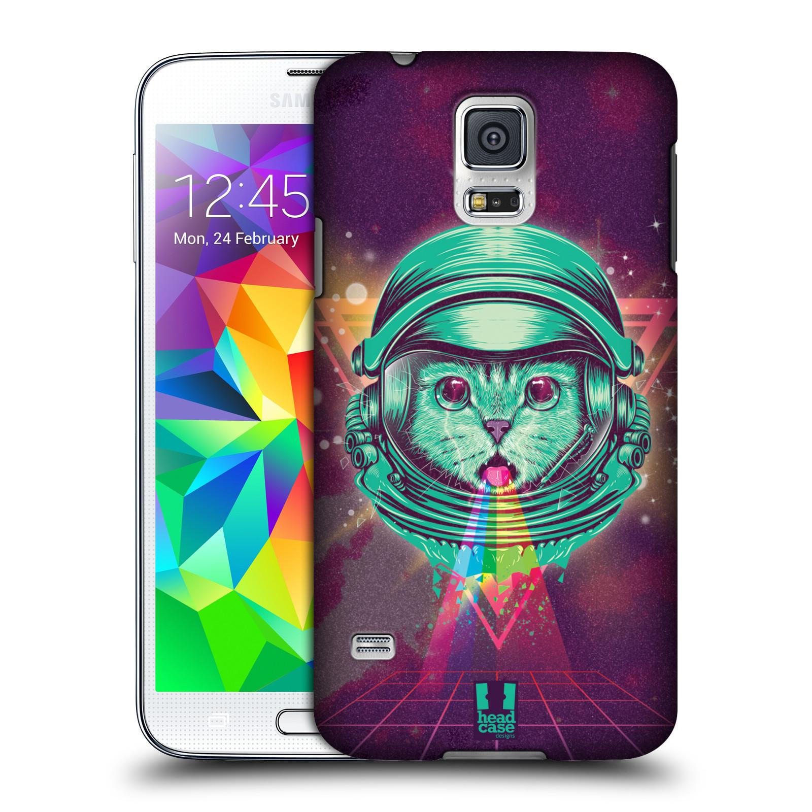 Plastové pouzdro na mobil Samsung Galaxy S5 Head Case - Kóča ve skafandru