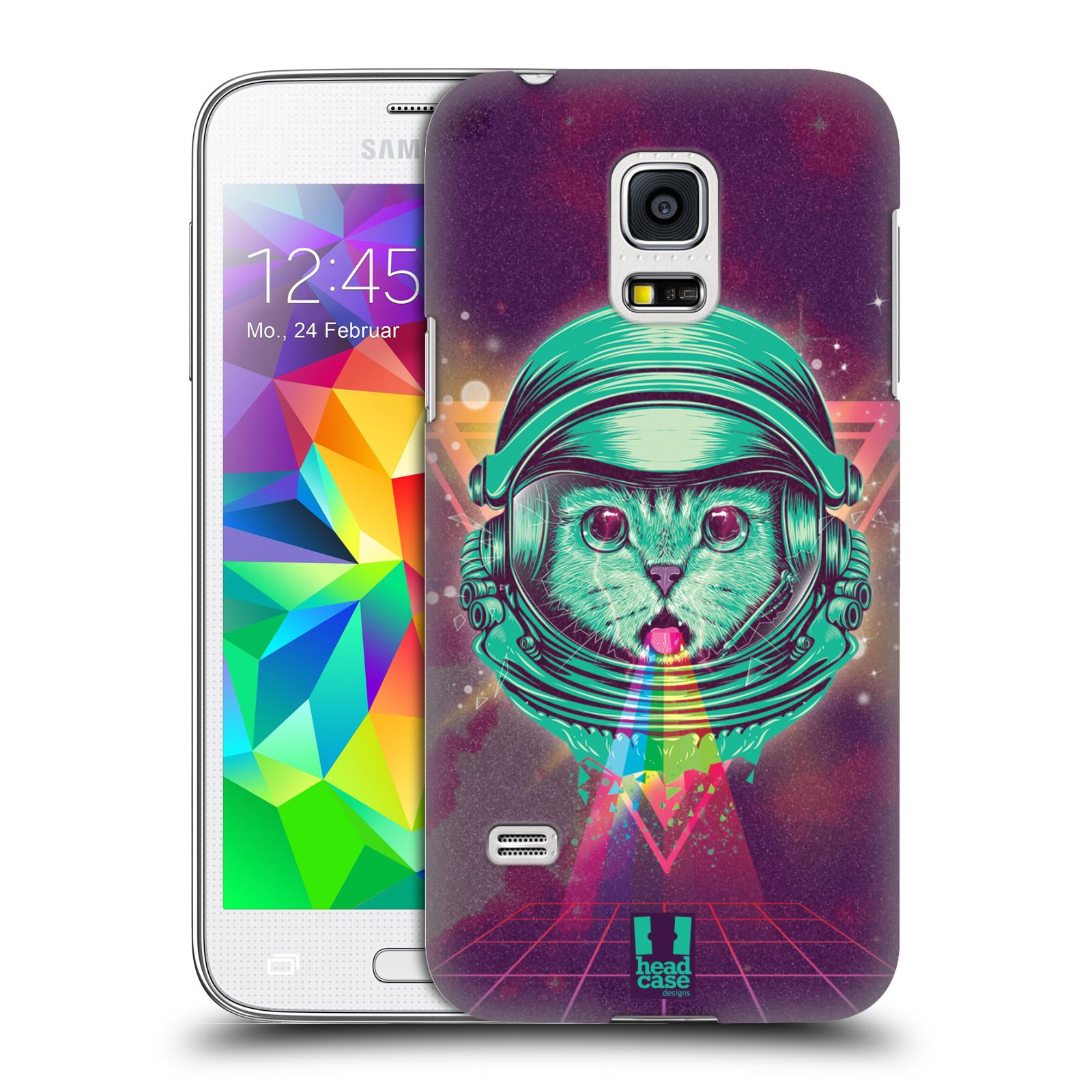 Plastové pouzdro na mobil Samsung Galaxy S5 Mini Head Case - Kóča ve skafandru