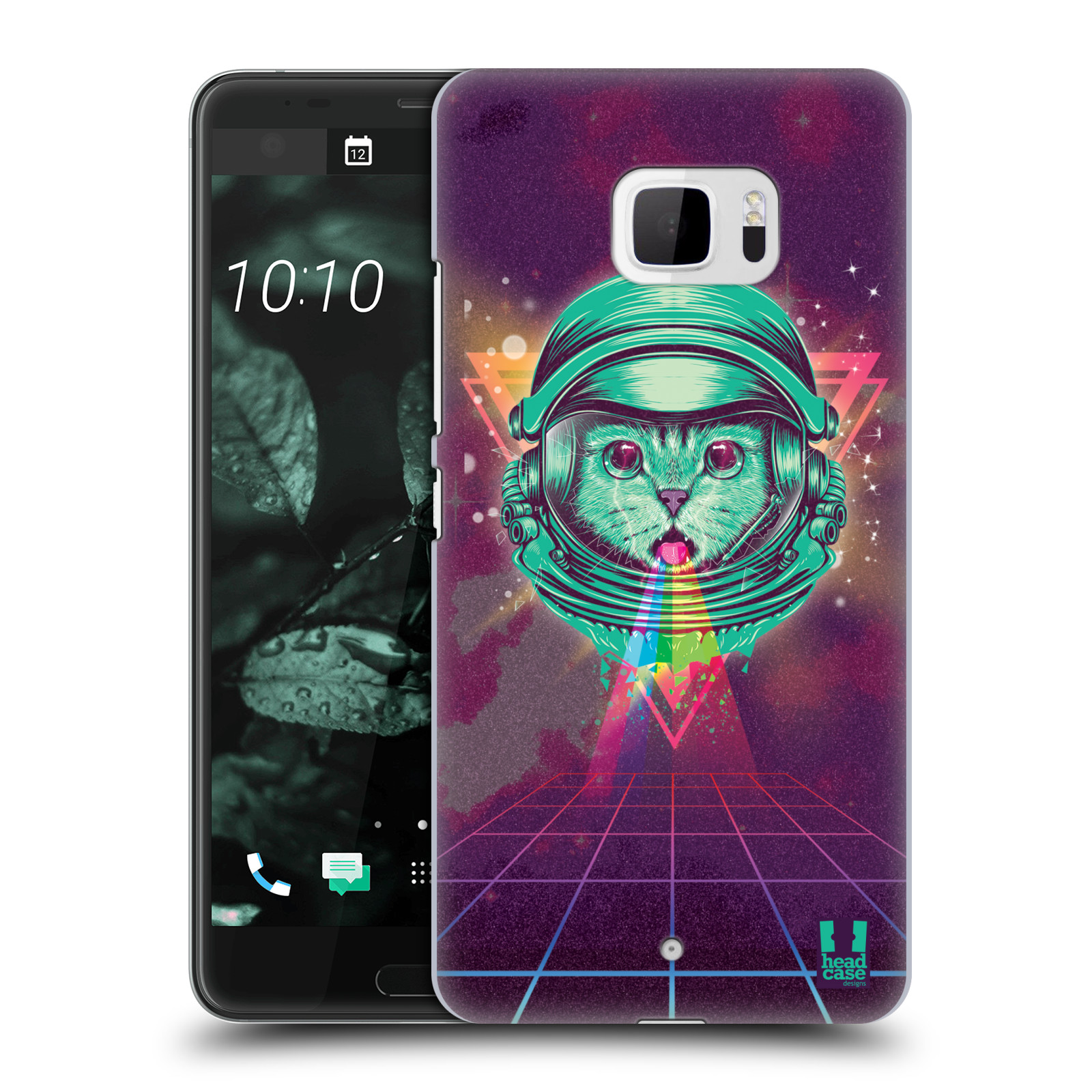 Plastové pouzdro na mobil HTC U Ultra Head Case - Kóča ve skafandru