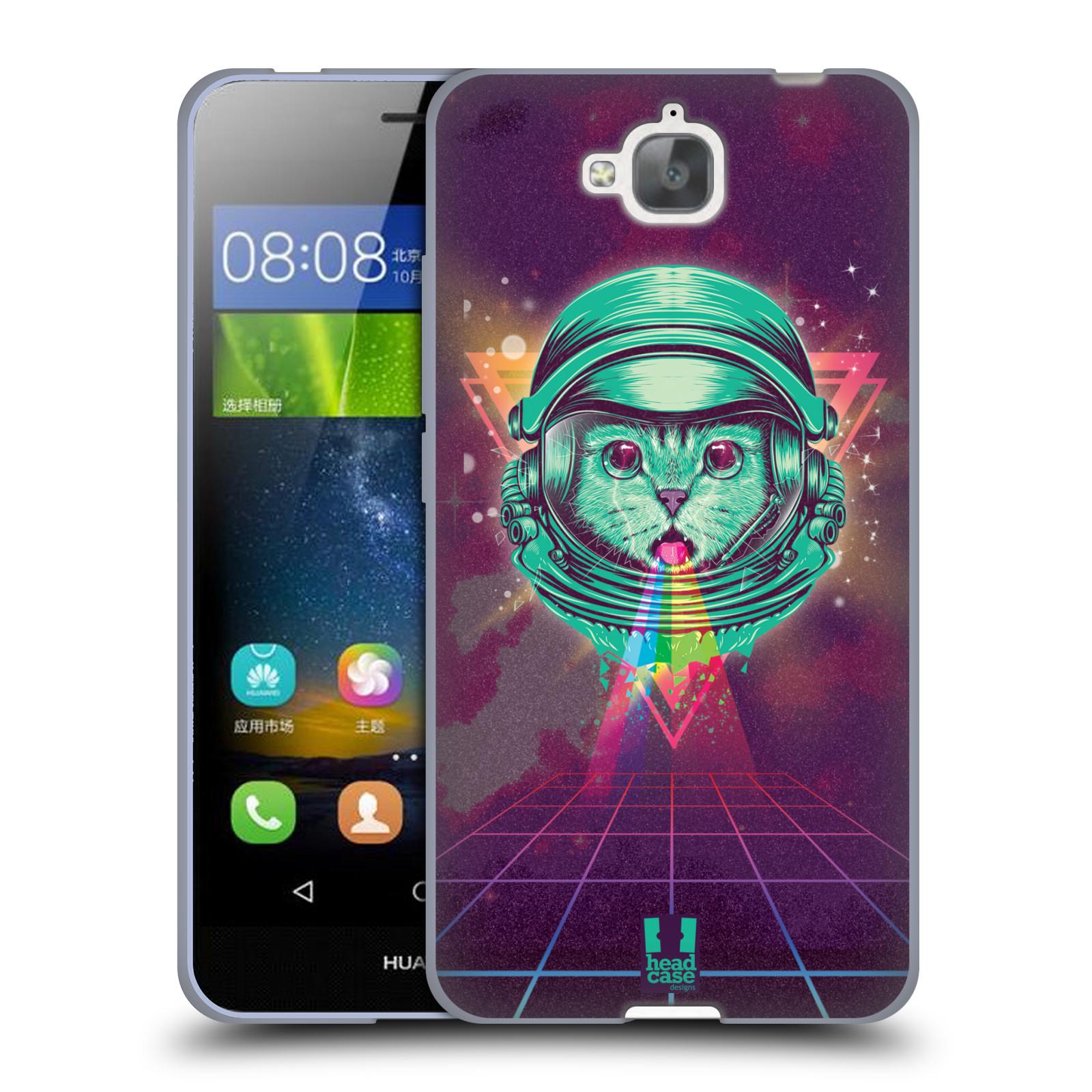 Silikonové pouzdro na mobil Huawei Y6 Pro Dual Sim Head Case - Kóča ve skafandru