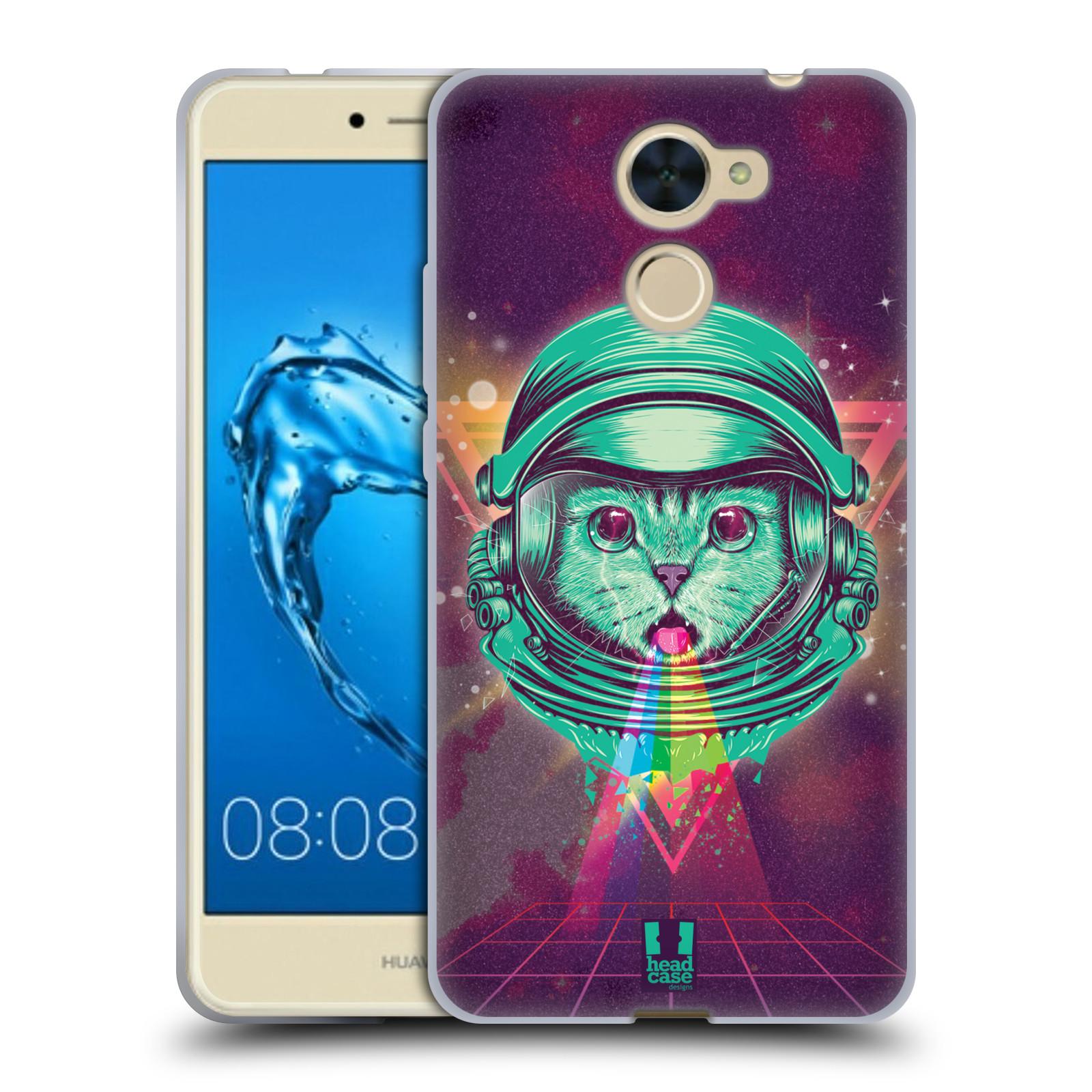 Silikonové pouzdro na mobil Huawei Y7 - Head Case - Kóča ve skafandru
