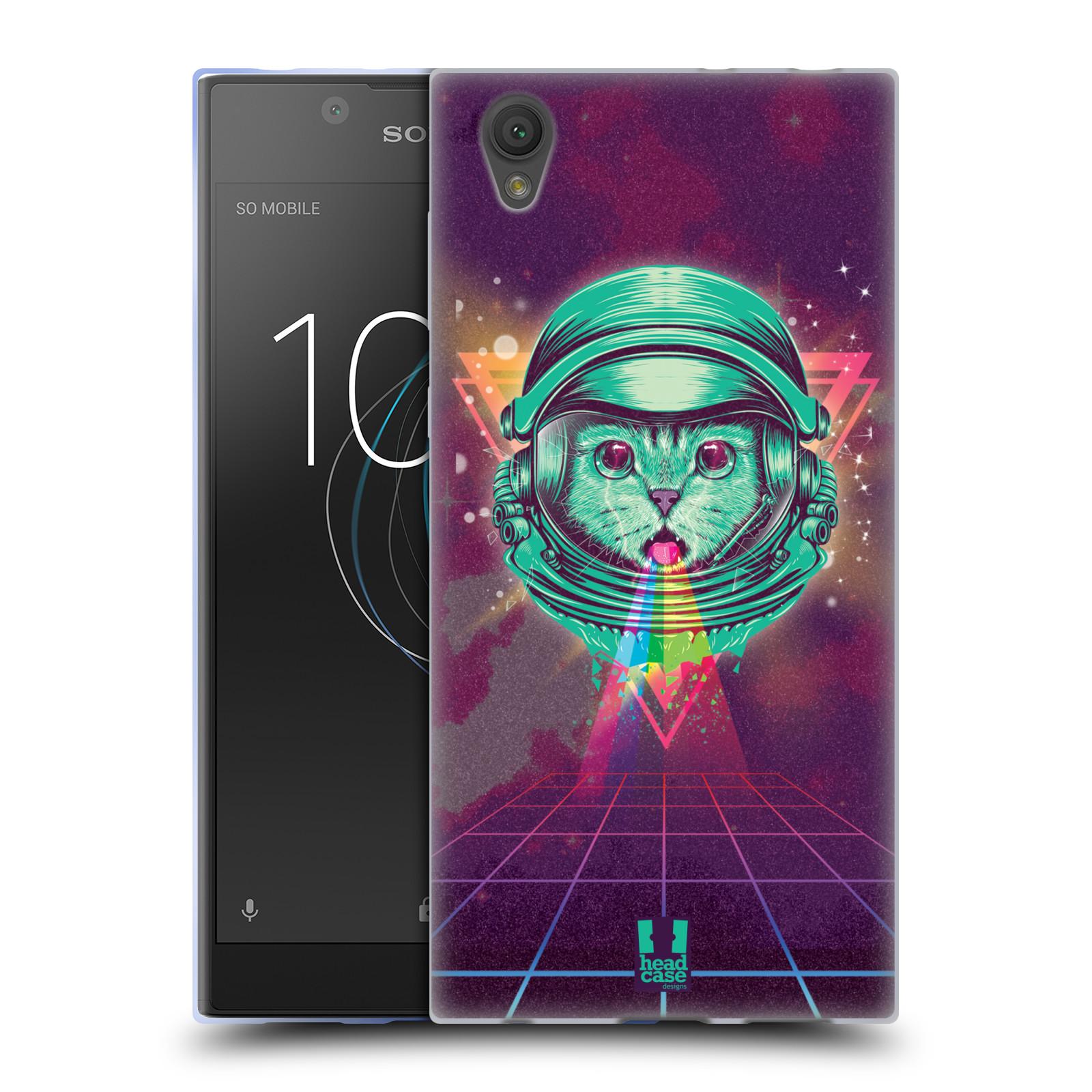 Silikonové pouzdro na mobil Sony Xperia L1 - Head Case - Kóča ve skafandru
