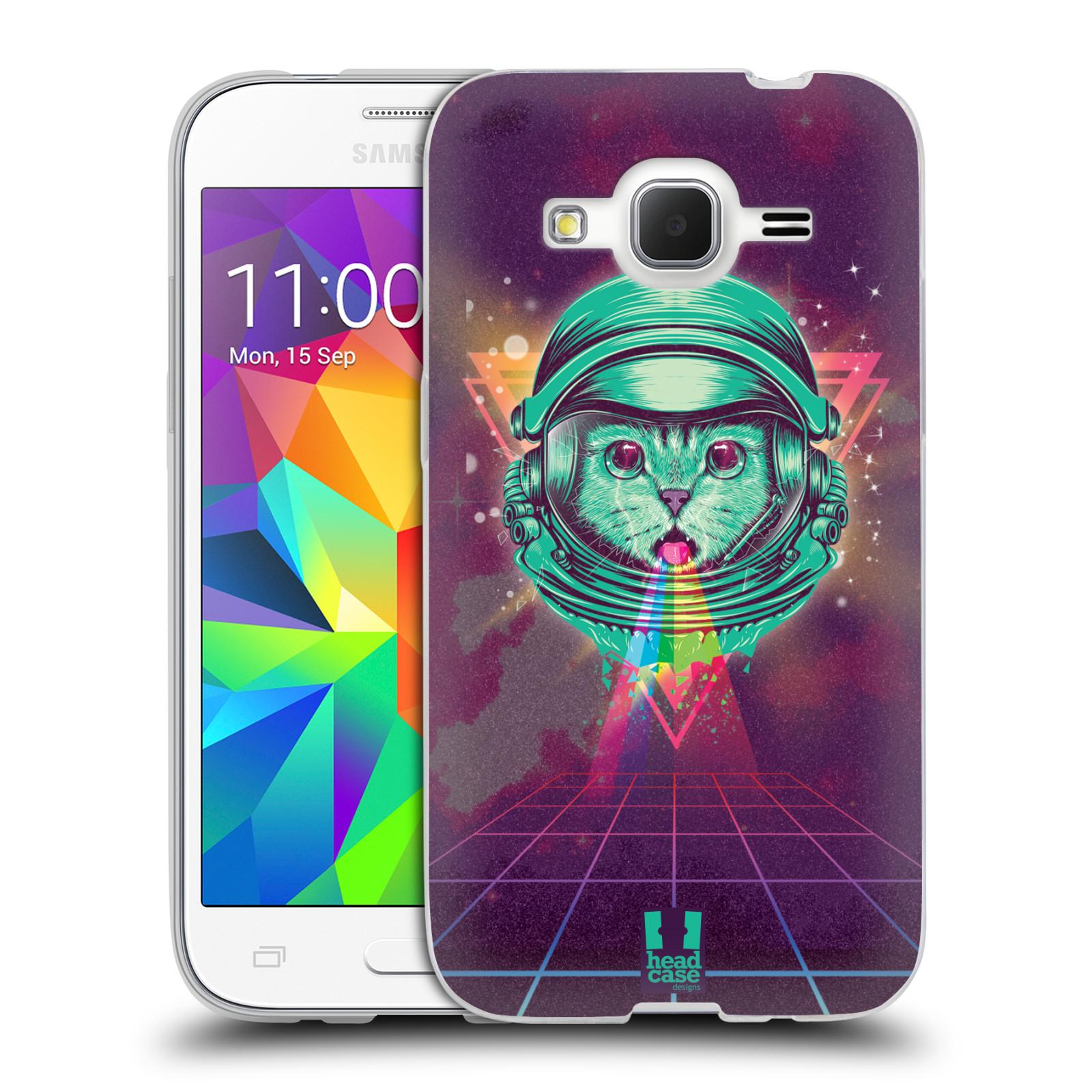Silikonové pouzdro na mobil Samsung Galaxy Core Prime LTE Head Case - Kóča ve skafandru
