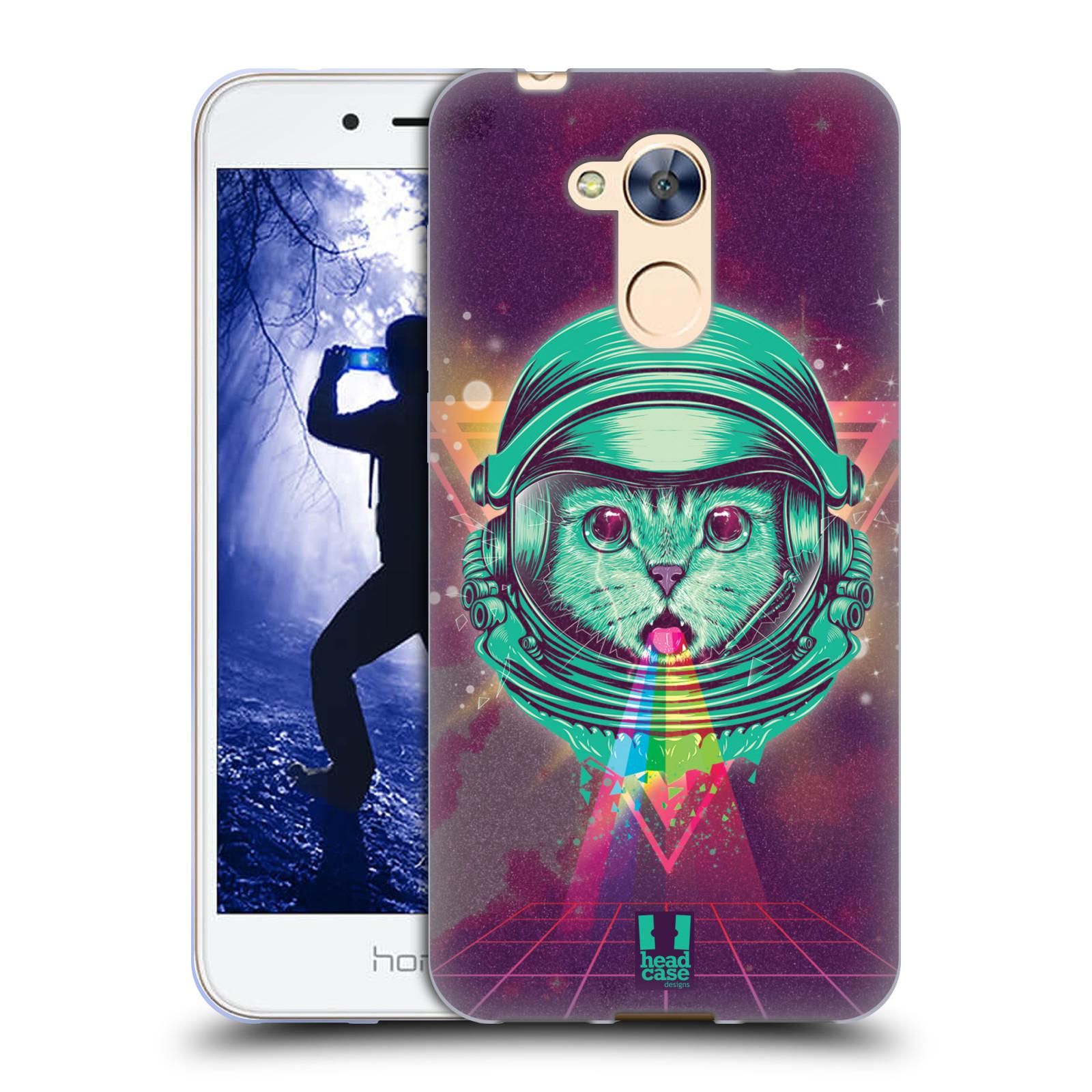 Silikonové pouzdro na mobil Honor 6A - Head Case - Kóča ve skafandru
