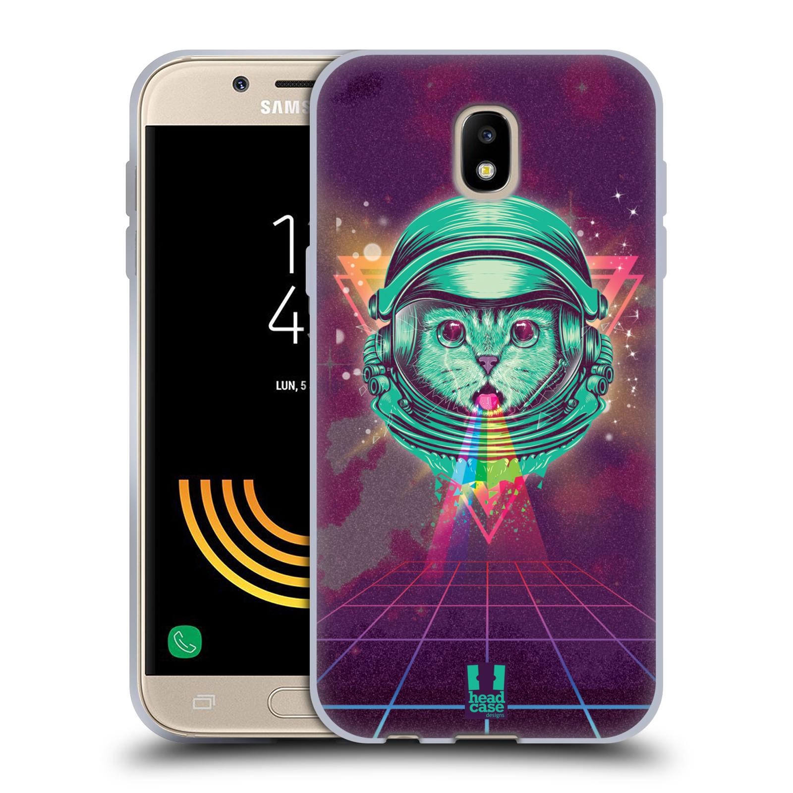 Silikonové pouzdro na mobil Samsung Galaxy J5 (2017) - Head Case - Kóča ve skafandru